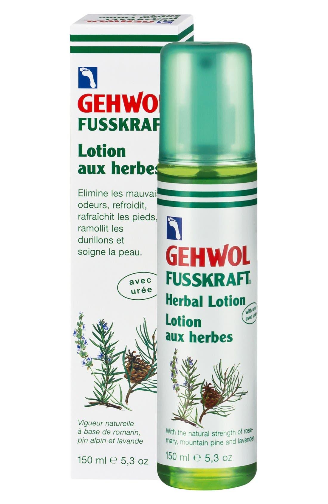 GEHWOL,  FUSSKRAFT<sup>®</sup> Herbal Lotion, Main thumbnail 1, color, NO COLOR