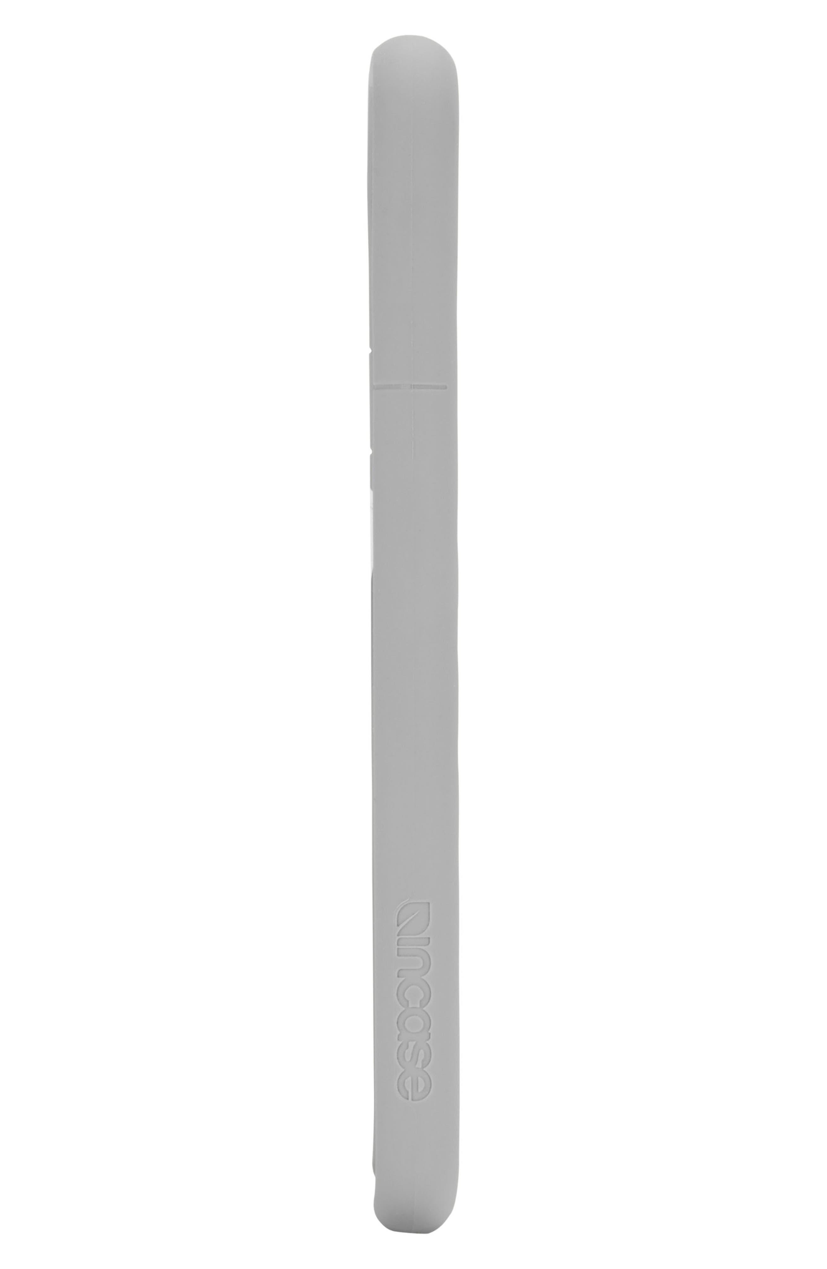 INCASE DESIGNS, Facet iPhone X & Xs Case, Alternate thumbnail 3, color, SLATE