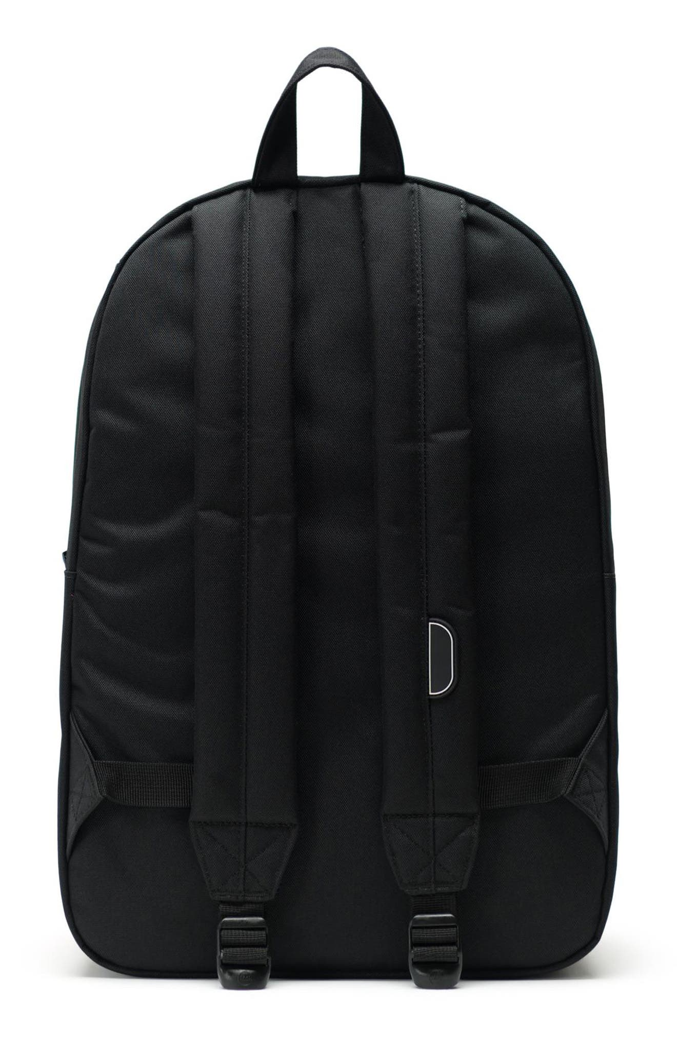HERSCHEL SUPPLY CO., Heritage Print Backpack, Alternate thumbnail 2, color, 001