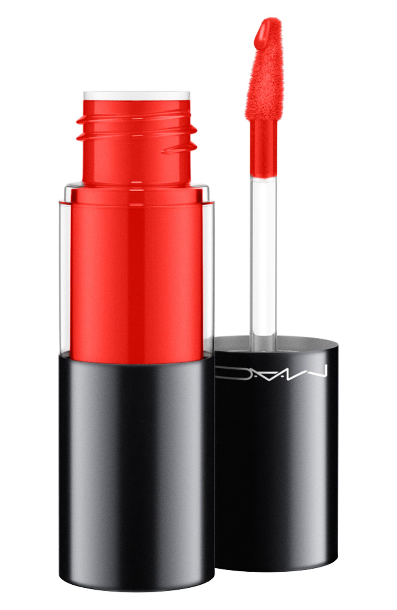 MAC COSMETICS, MAC Versicolor Varnish Cream Lip Stain, Main thumbnail 1, color, TO THE EXTREME