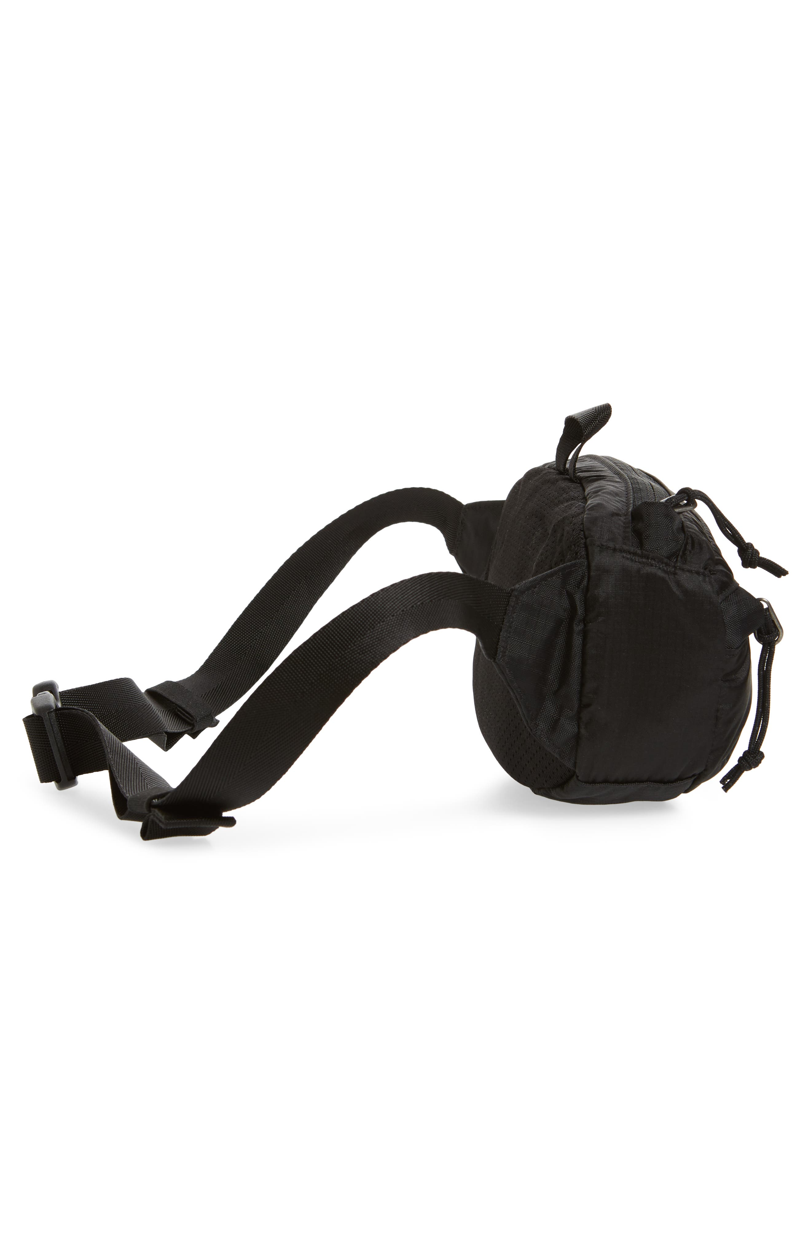 PATAGONIA, Lightweight Mini Hip Pack, Alternate thumbnail 7, color, BLACK