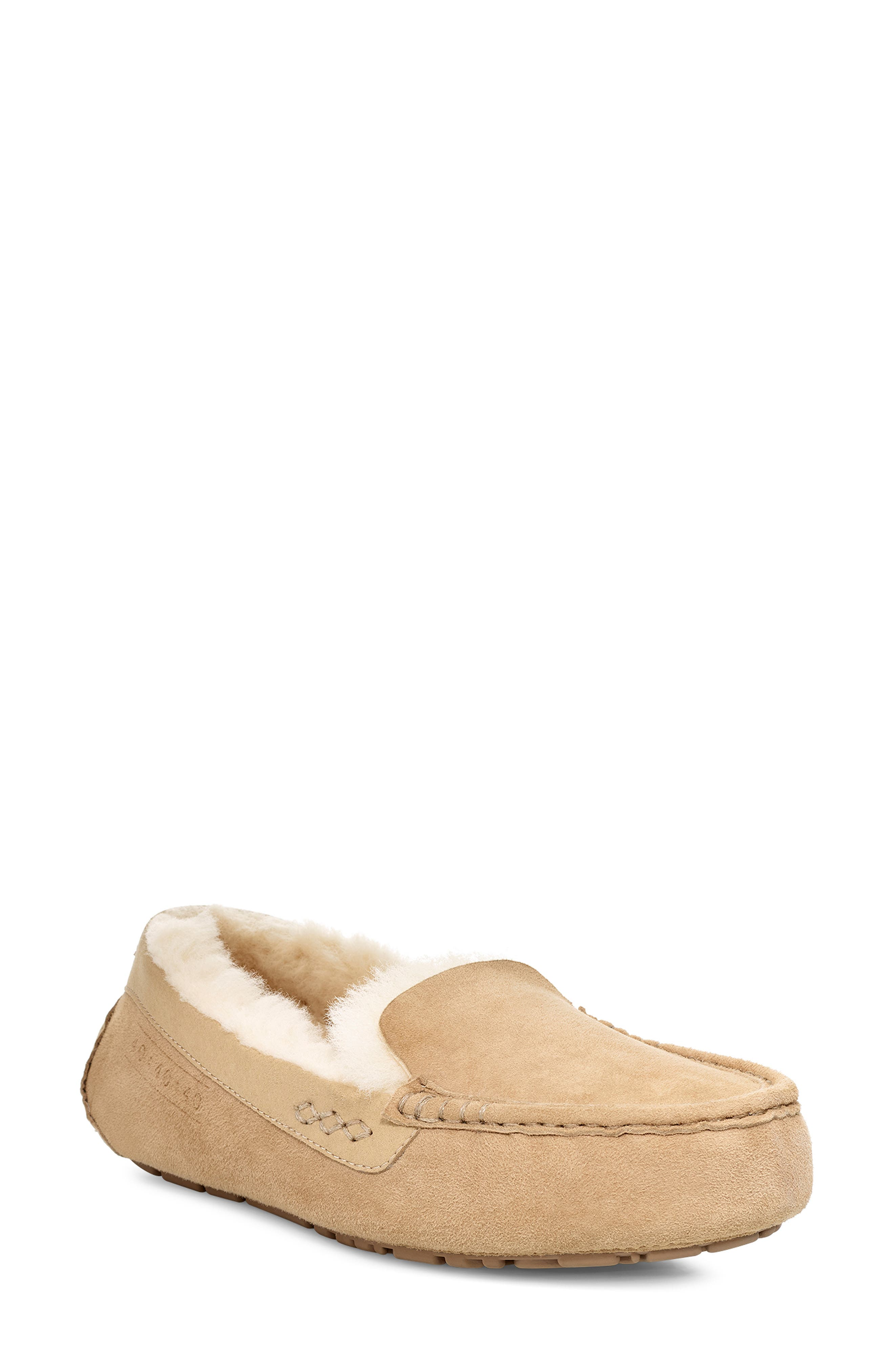 UGG<SUP>®</SUP> Ansley 40:40:40 Anniversary Slipper, Main, color, SAND