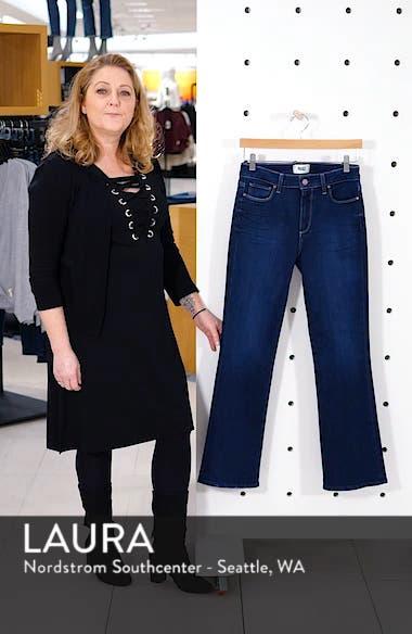 Transcend Vintage - Manhattan High Waist Bootcut Jeans, sales video thumbnail