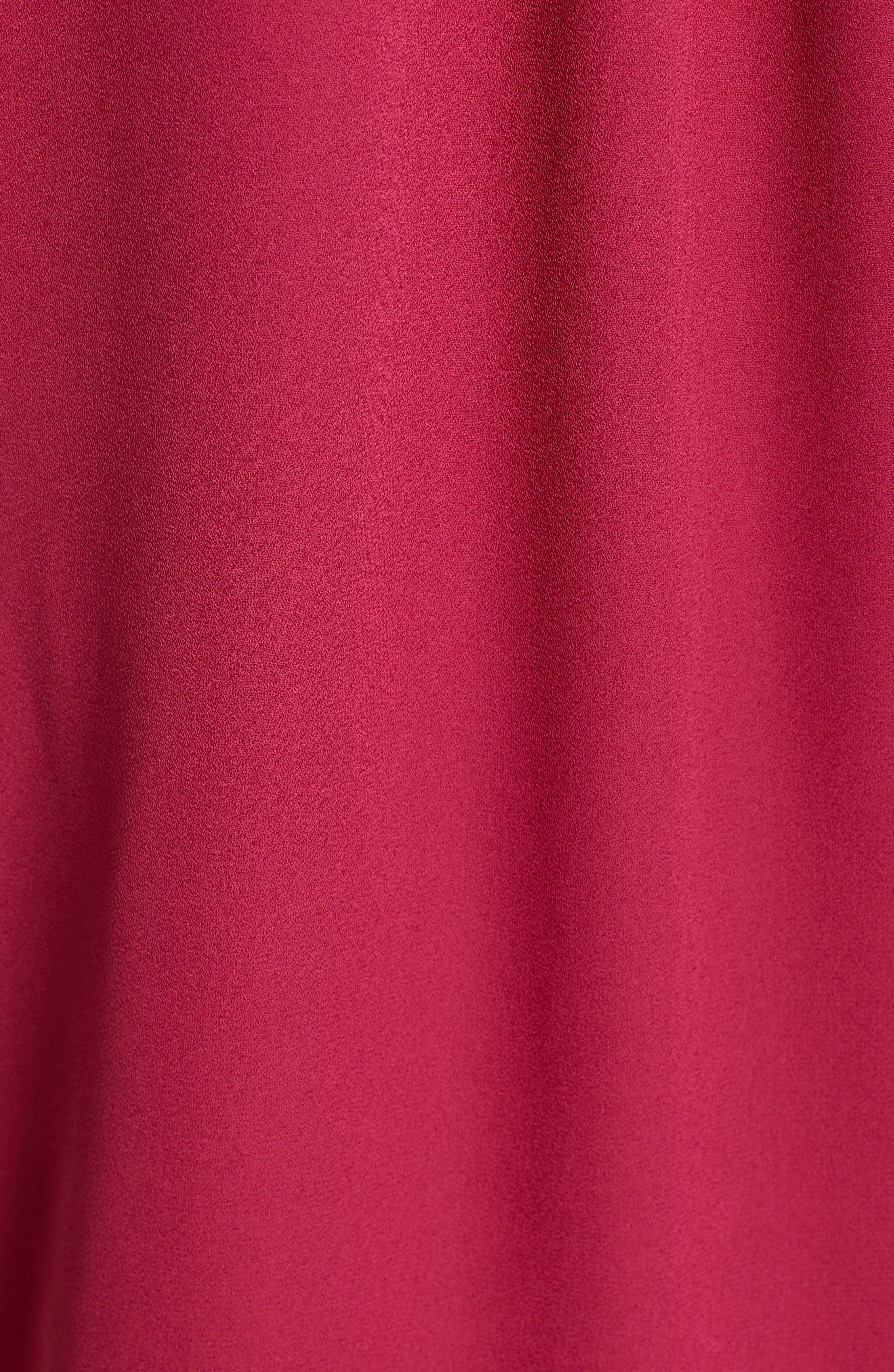 &.LAYERED, Side Drape Blouse, Alternate thumbnail 5, color, GRANITA