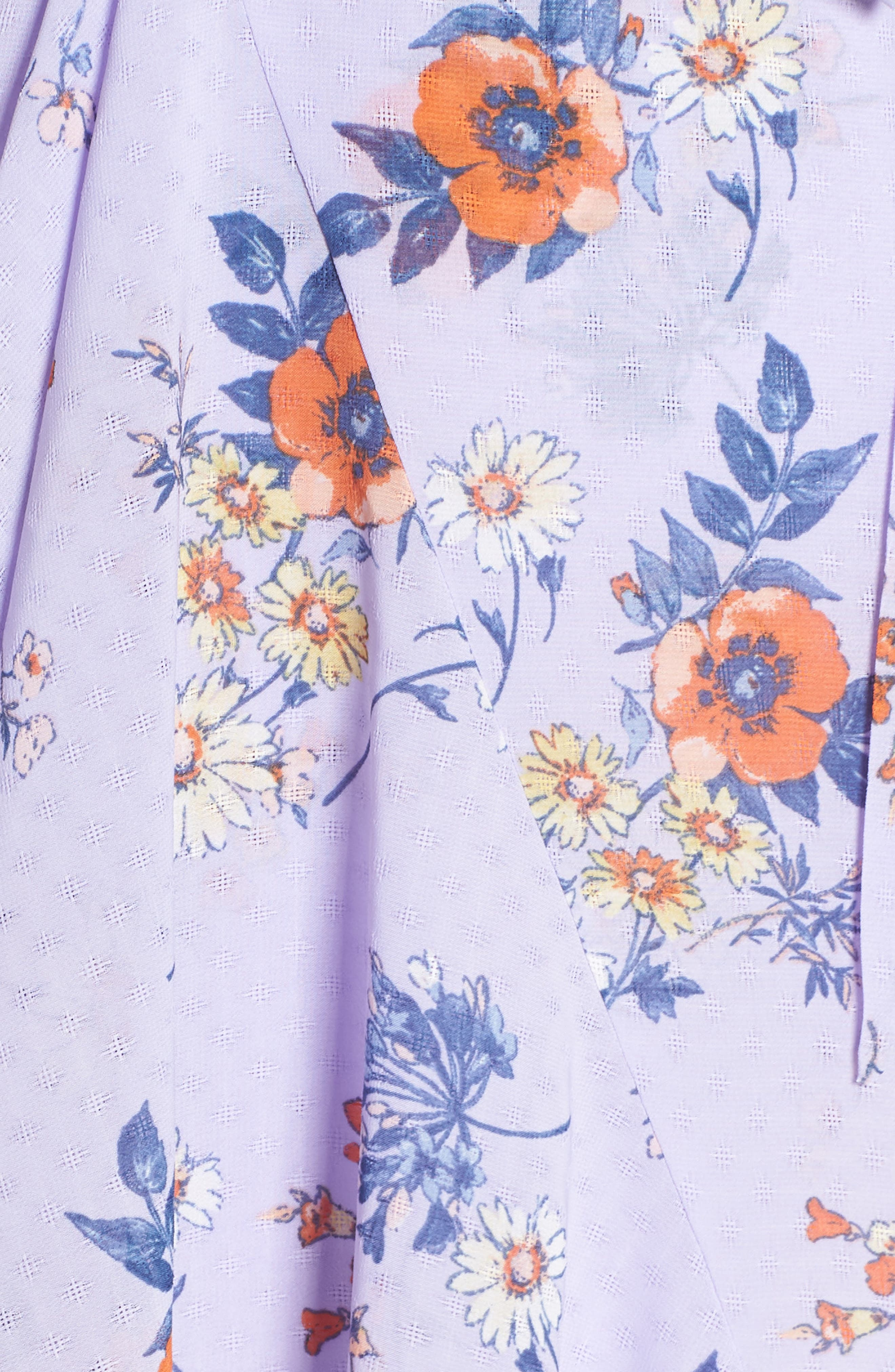 ALI & JAY, Sure Thing Maxi Dress, Alternate thumbnail 6, color, LAVENDER FIELD FLORAL