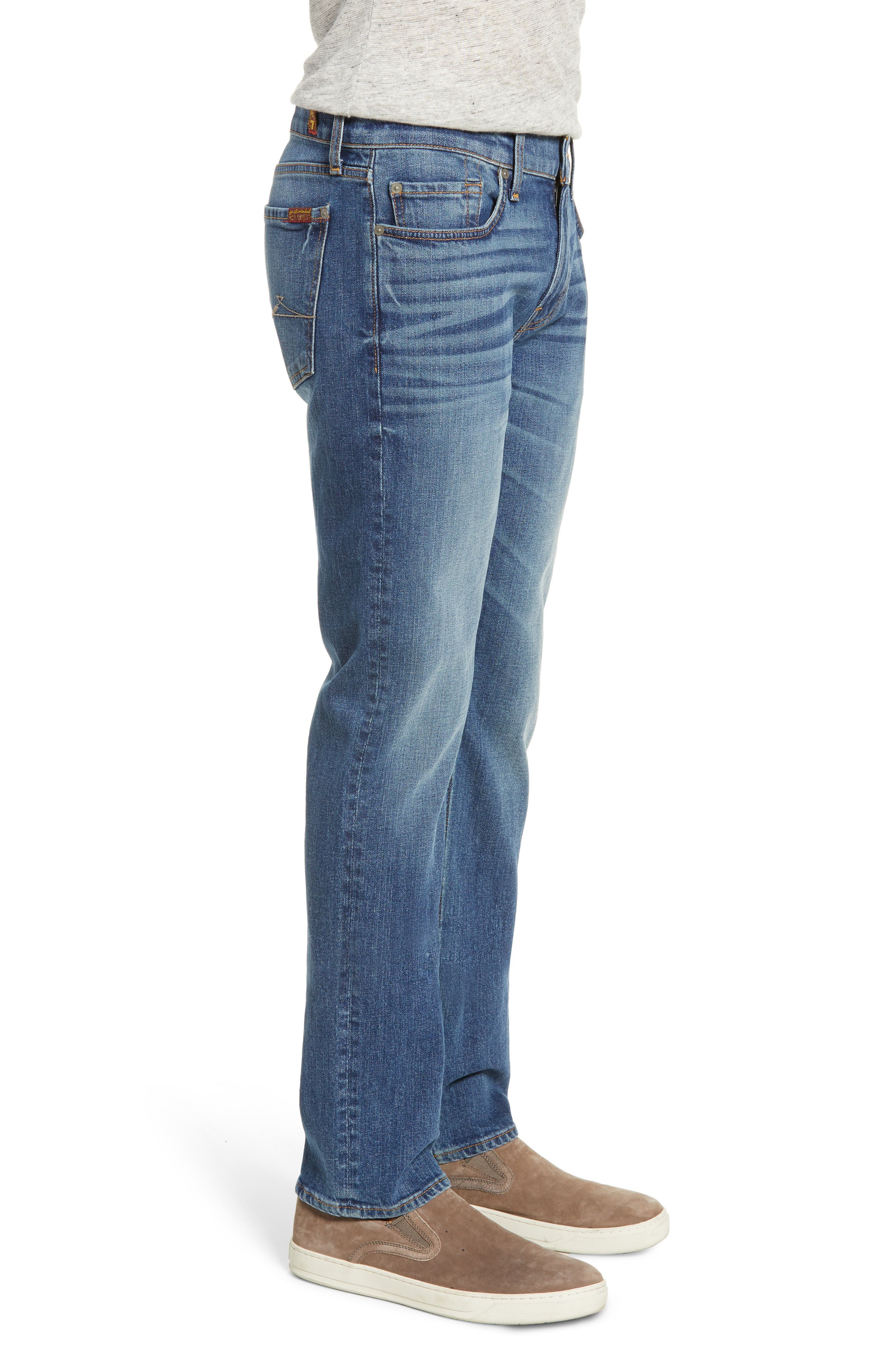7 FOR ALL MANKIND<SUP>®</SUP>, Slimmy Slim Fit Jeans, Alternate thumbnail 3, color, PRPH