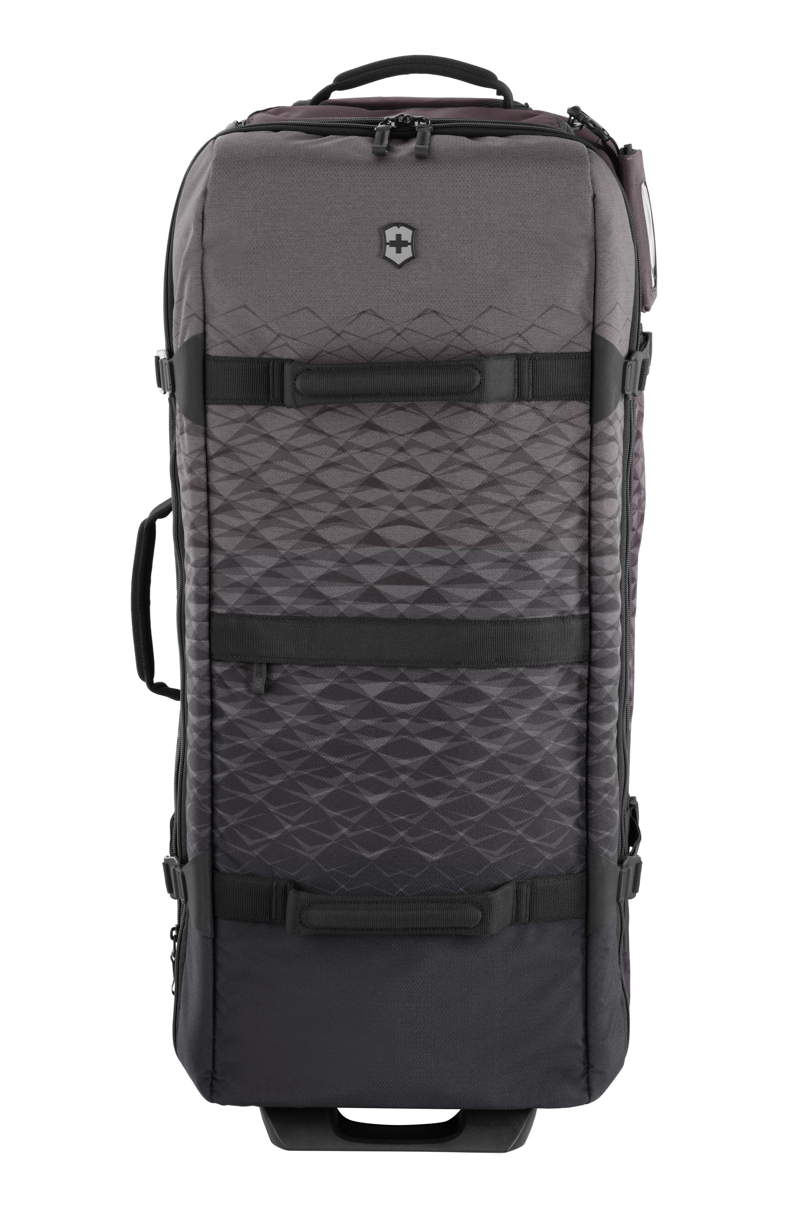 VICTORINOX SWISS ARMY<SUP>®</SUP>, VX Touring Extra Large 33-Inch Wheeled Duffle Bag, Main thumbnail 1, color, ANTHRACITE