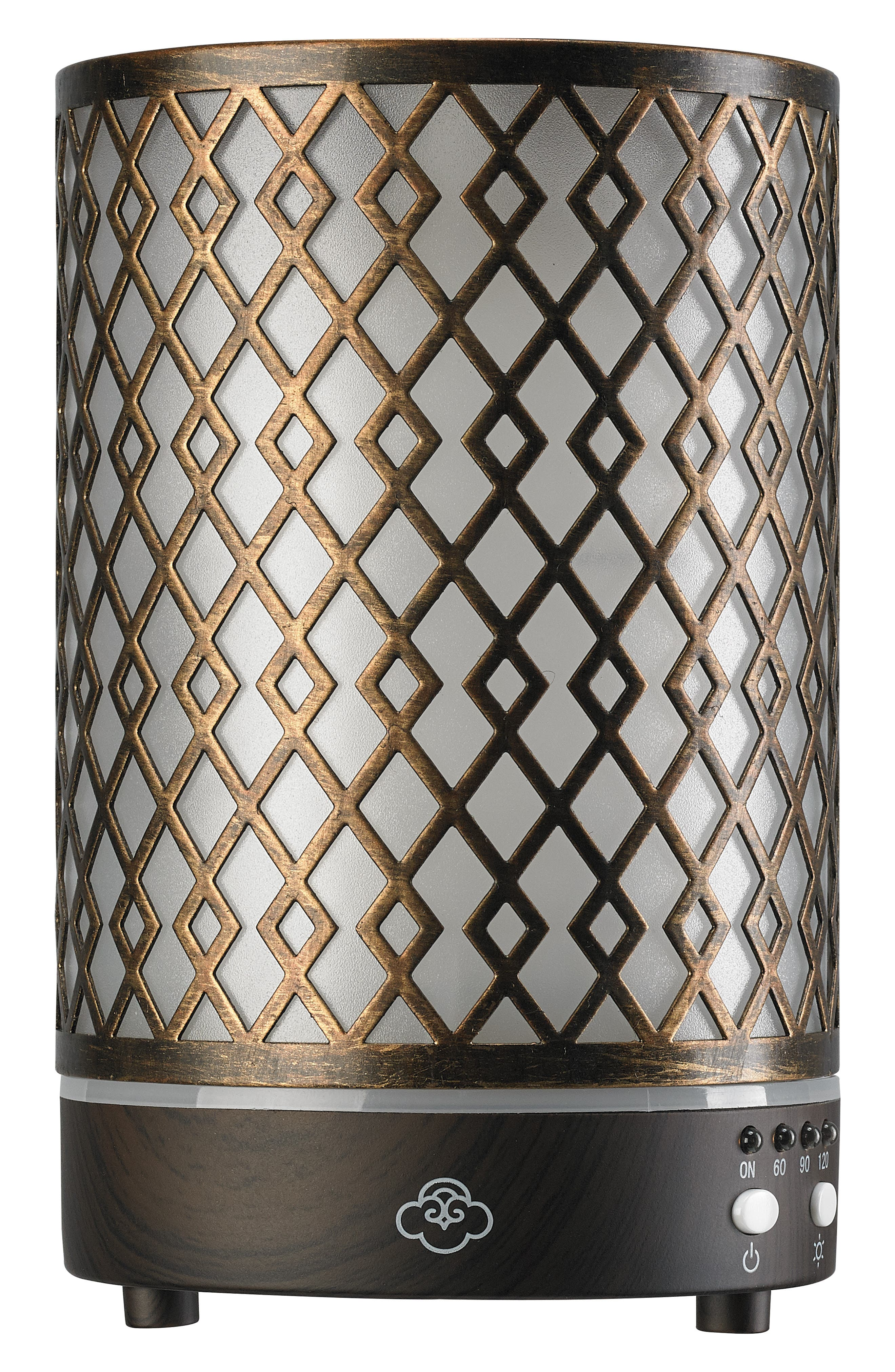 SERENE HOUSE Arrow Ultrasonic Aromatherapy Diffuser, Main, color, METALLIC