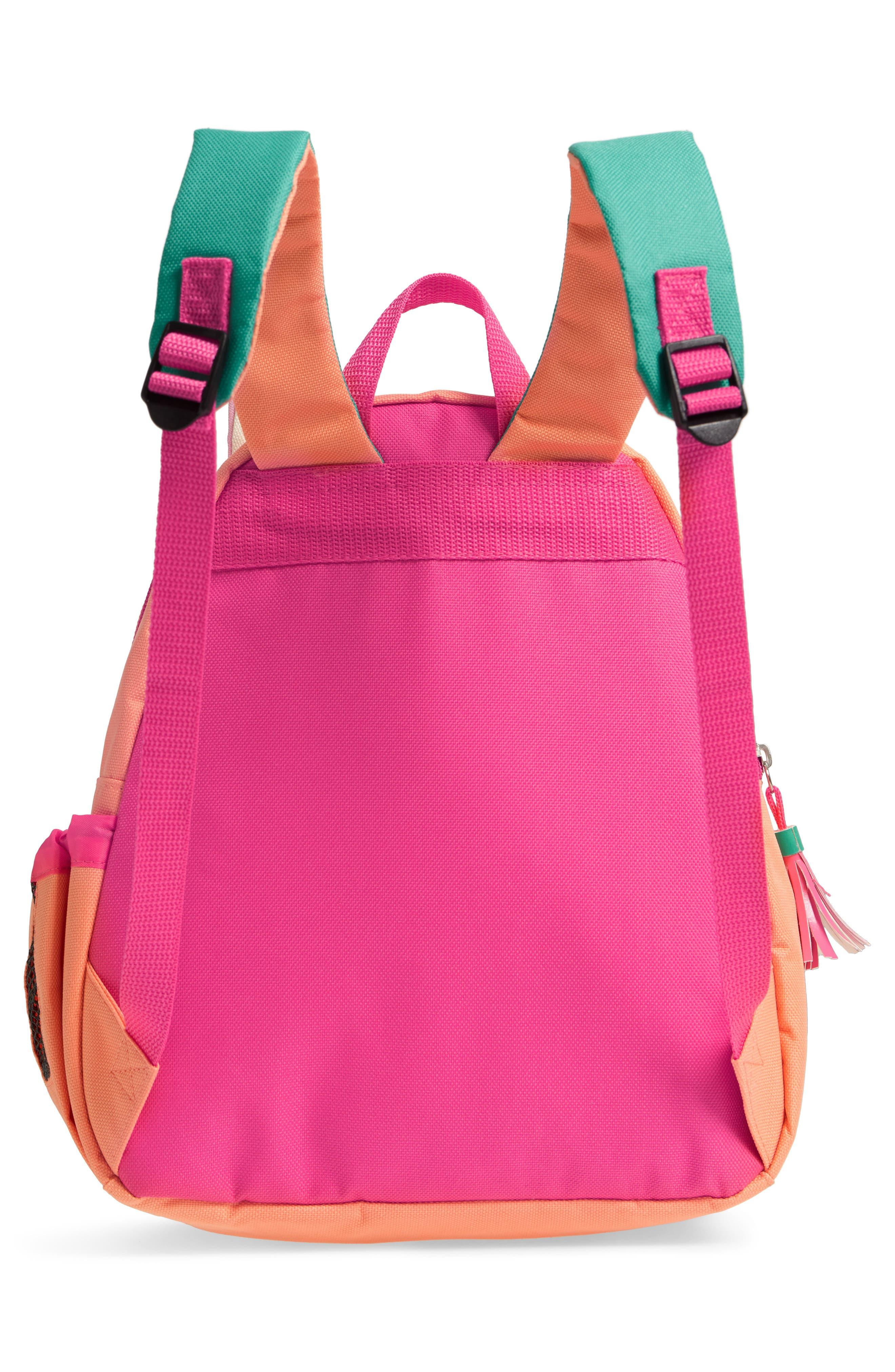 SKIP HOP, Zoo Pack Llama Backpack, Alternate thumbnail 2, color, PINK MULTI