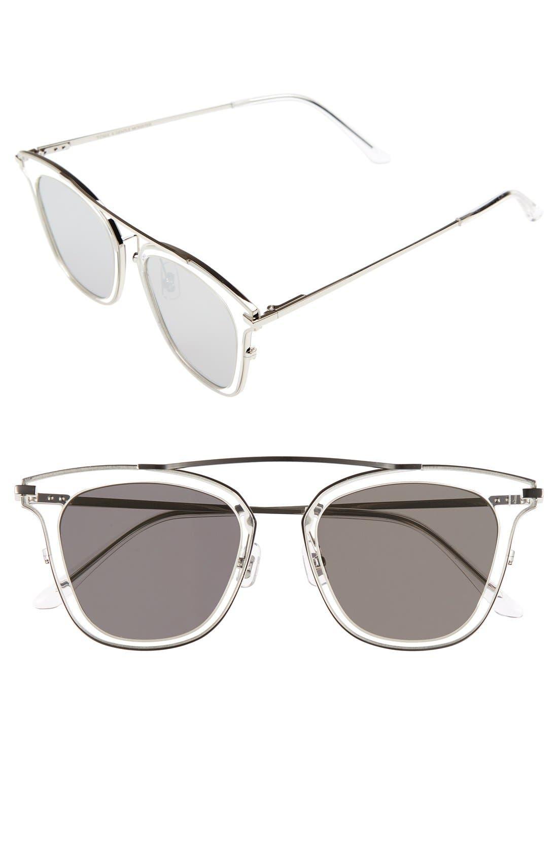 GENTLE MONSTER TOME x Gentle Monster Supernature 51mm Retro Sunglasses, Main, color, 040