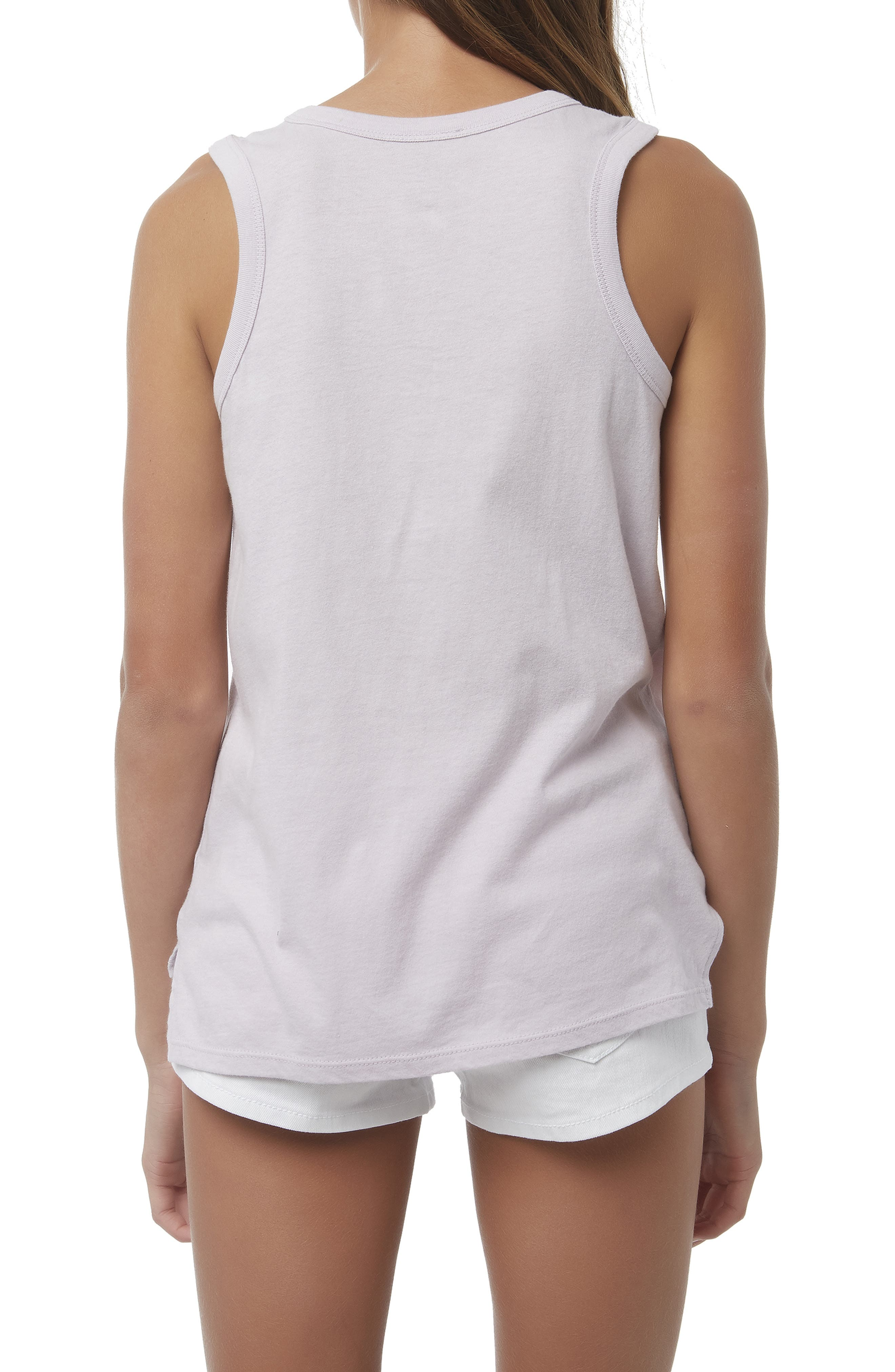 O'NEILL, Sun Graphic High/Low Tank, Alternate thumbnail 3, color, 530