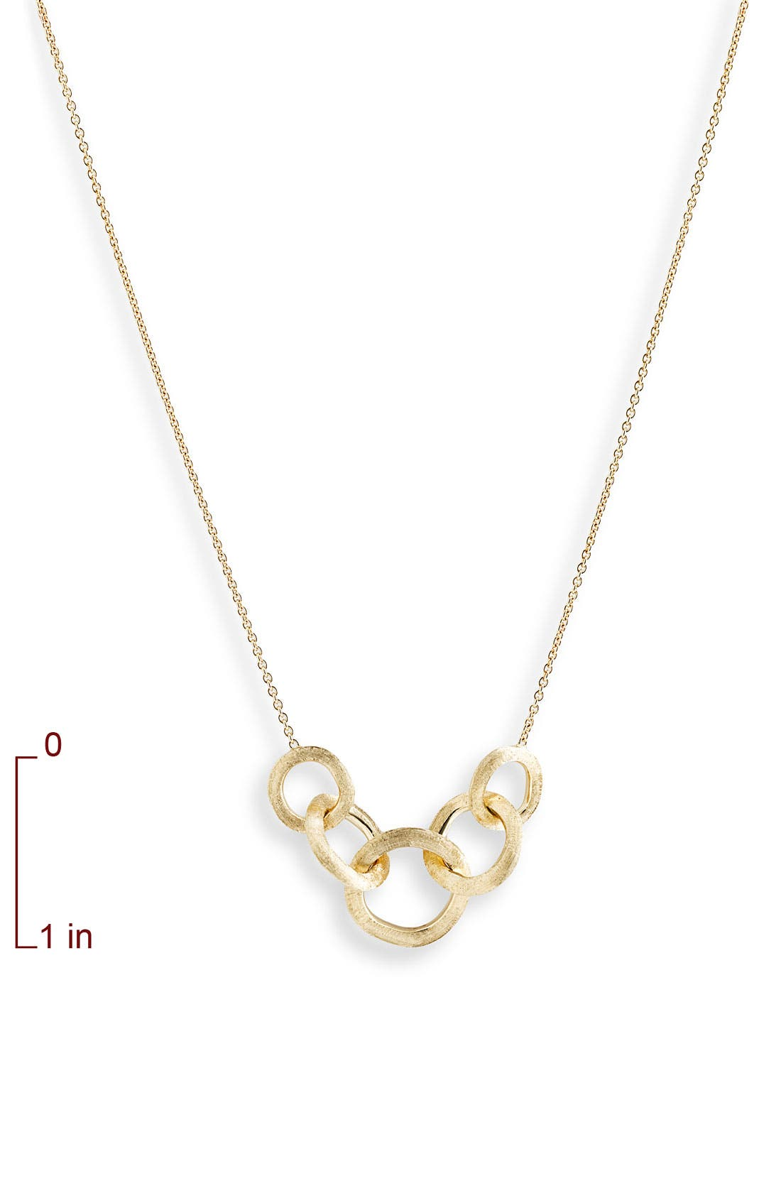 MARCO BICEGO, 'Jaipur' Link Necklace, Alternate thumbnail 2, color, YELLOW GOLD