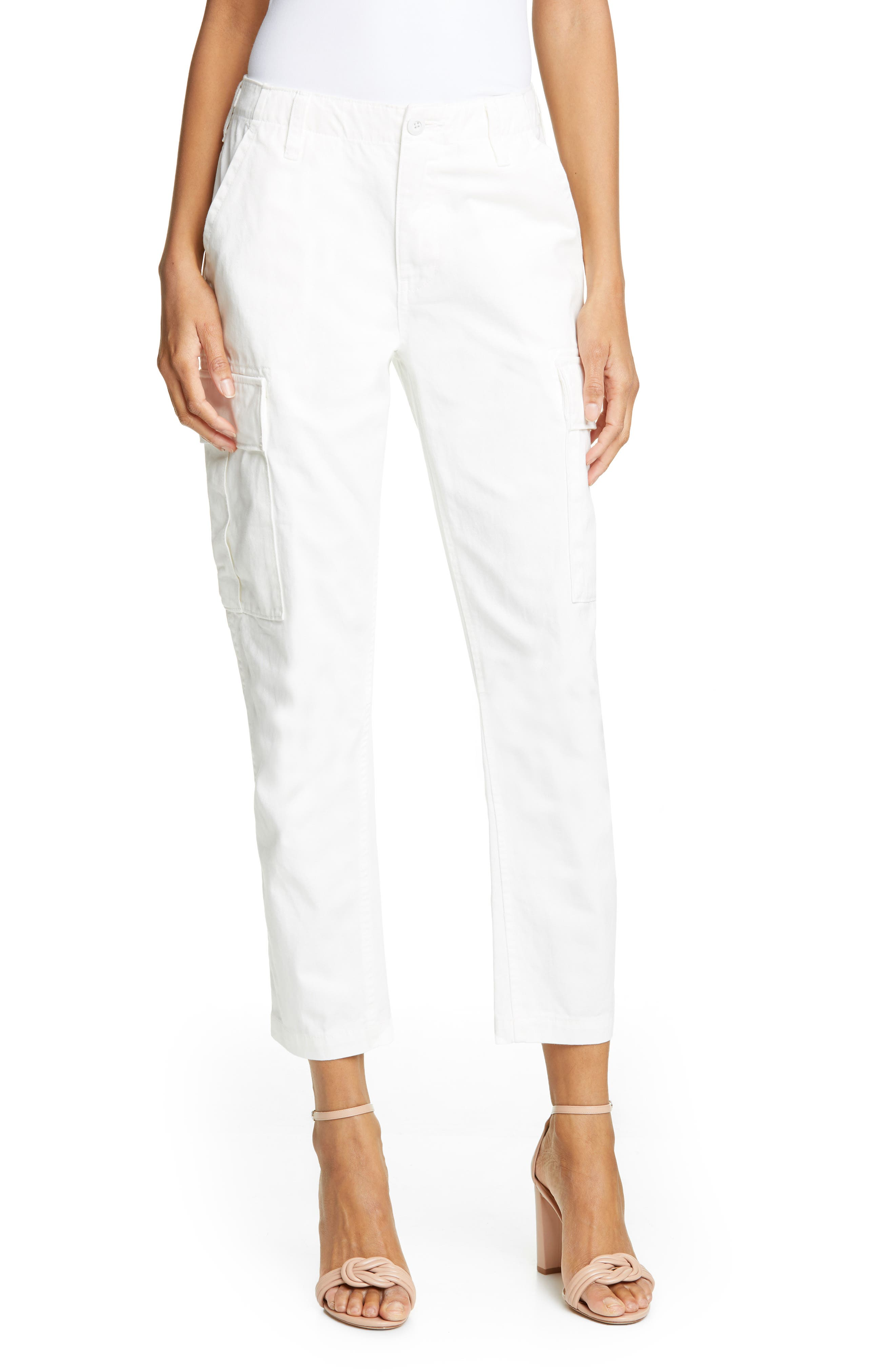 Re/done Cargo Pants, Ivory