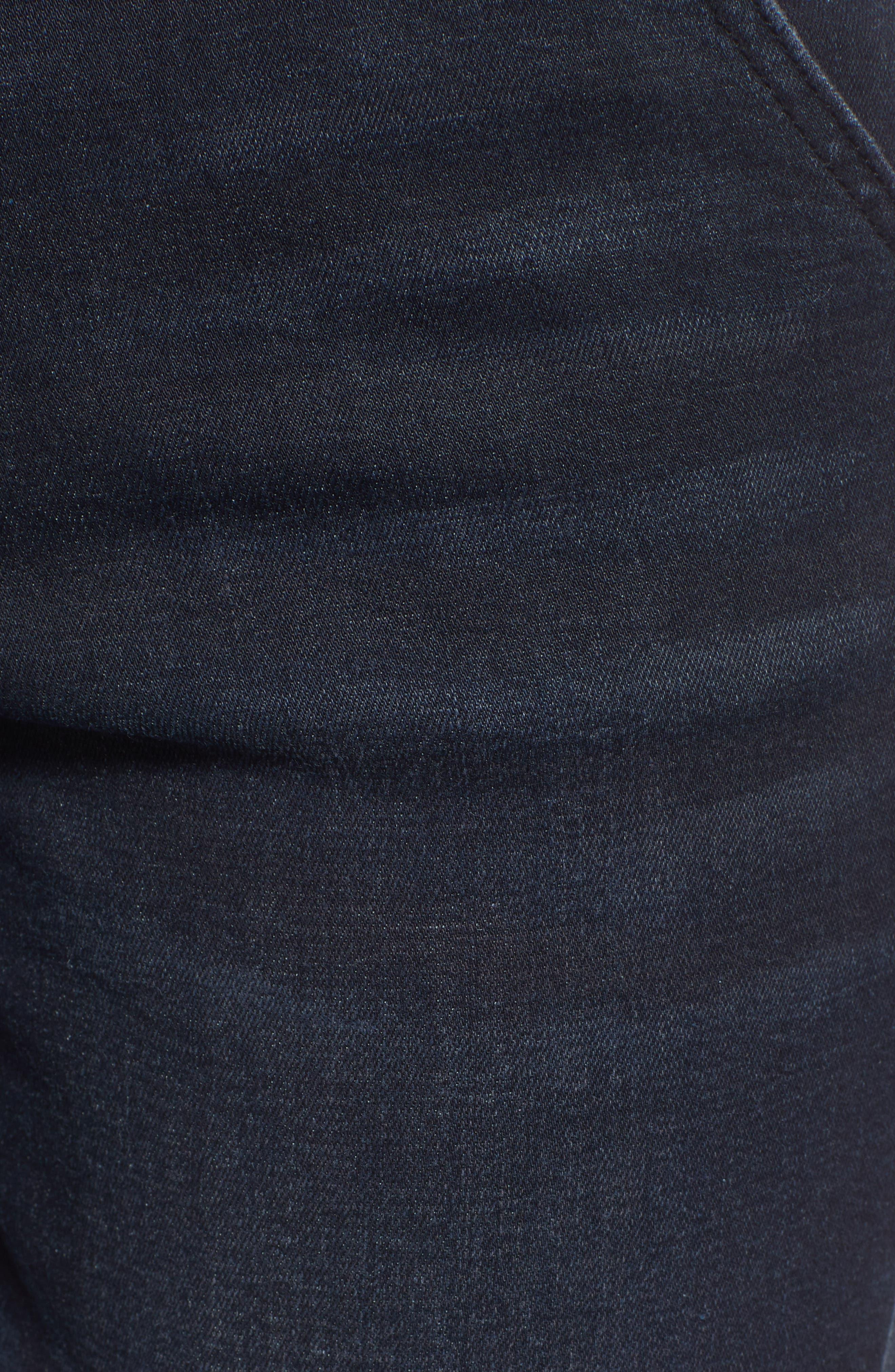 PROSPERITY DENIM, High Waist Ankle Boyfriend Jeans, Alternate thumbnail 6, color, ROCKER WASH