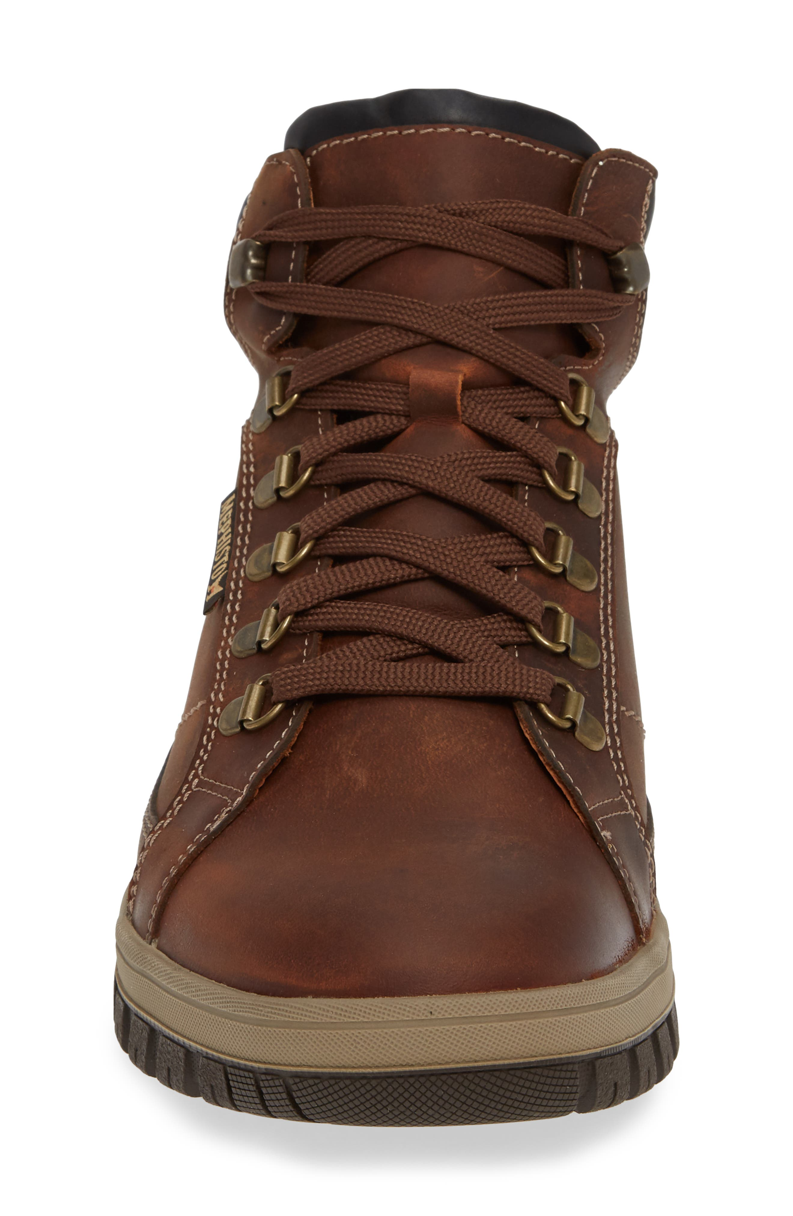 MEPHISTO, Pitt Mid Lace-Up Boot, Alternate thumbnail 4, color, 213