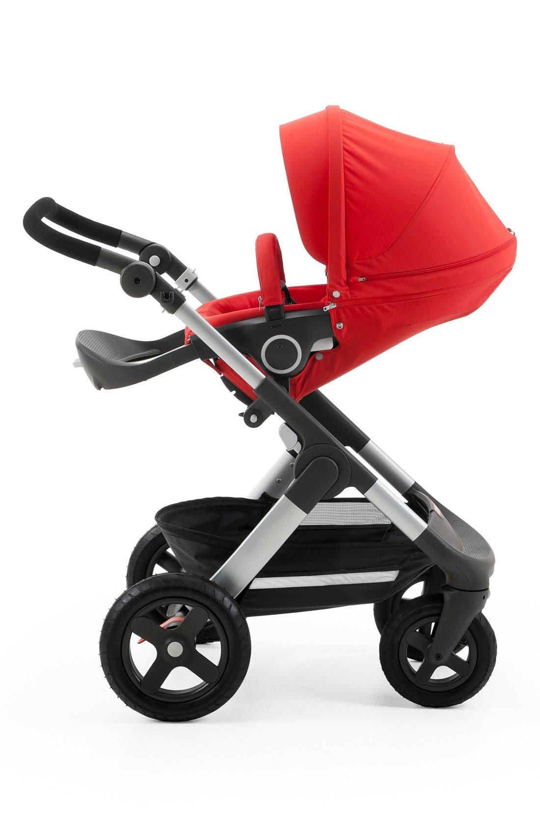 STOKKE, Trailz<sup>™</sup> All Terrain Stroller, Alternate thumbnail 2, color, RED