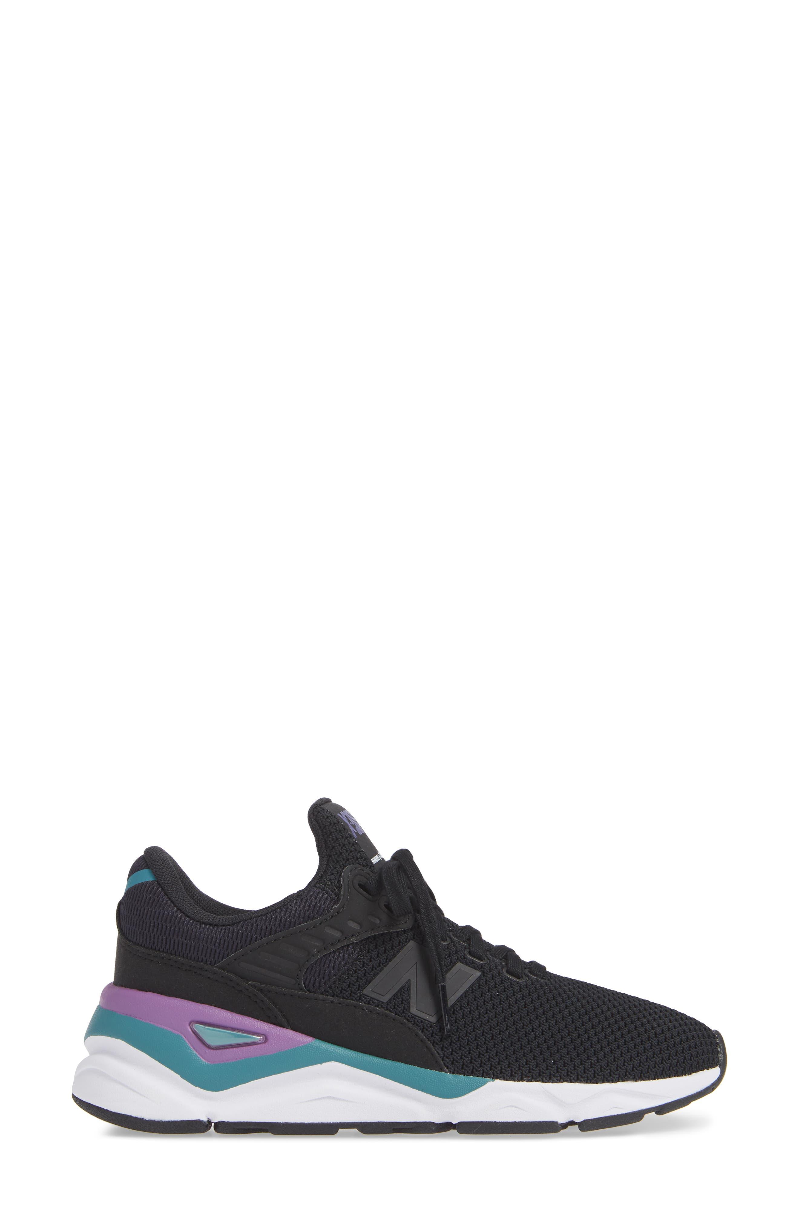 NEW BALANCE, X-90 Sneaker, Alternate thumbnail 3, color, PHANTOM