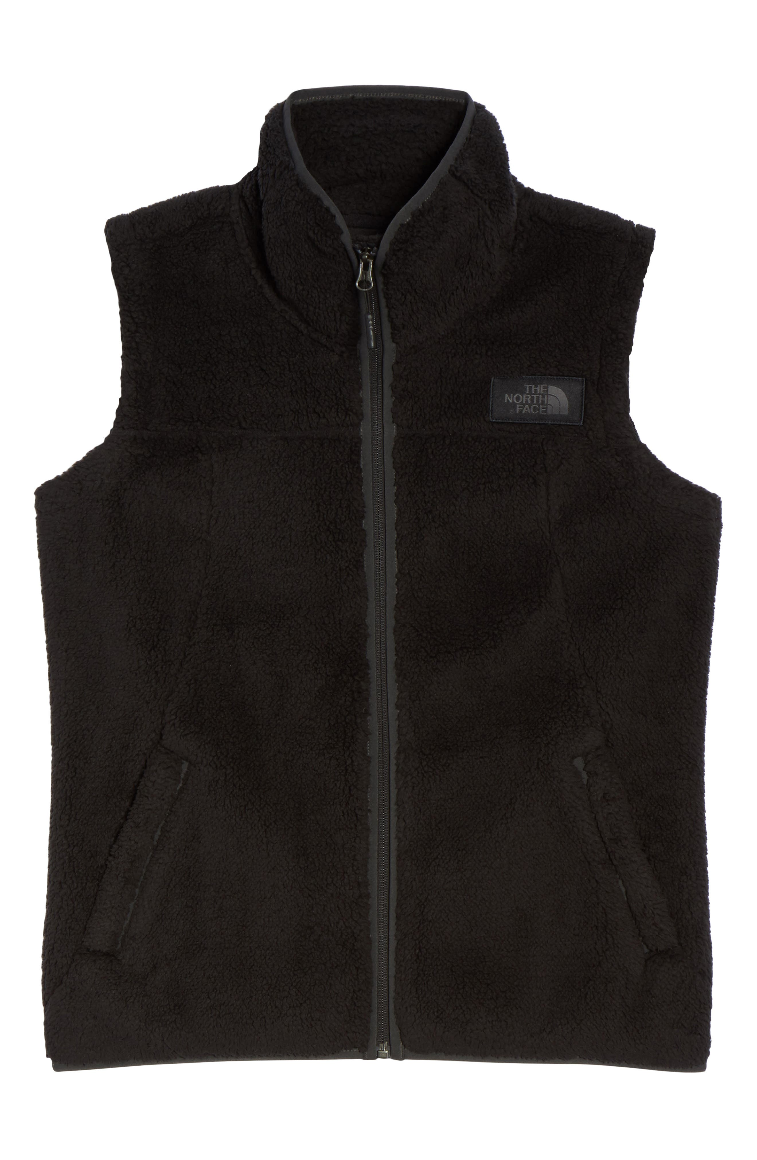 THE NORTH FACE, Campshire Vest, Alternate thumbnail 6, color, 001