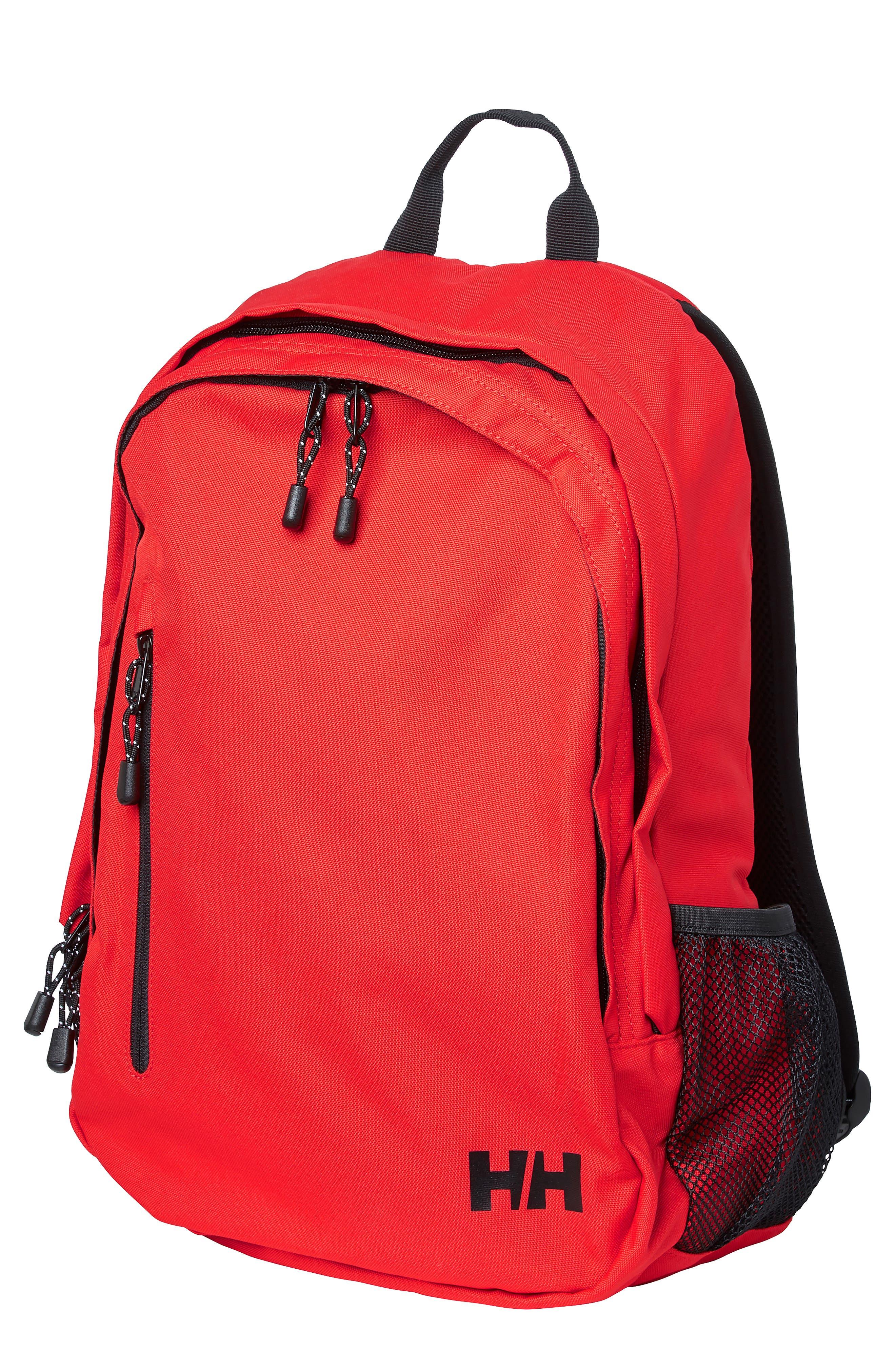 HELLY HANSEN Dublin Backpack, Main, color, ALERT RED
