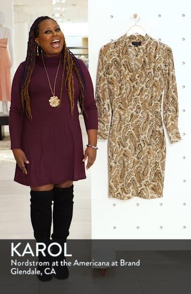 Paisley Silk Shirtdress, sales video thumbnail