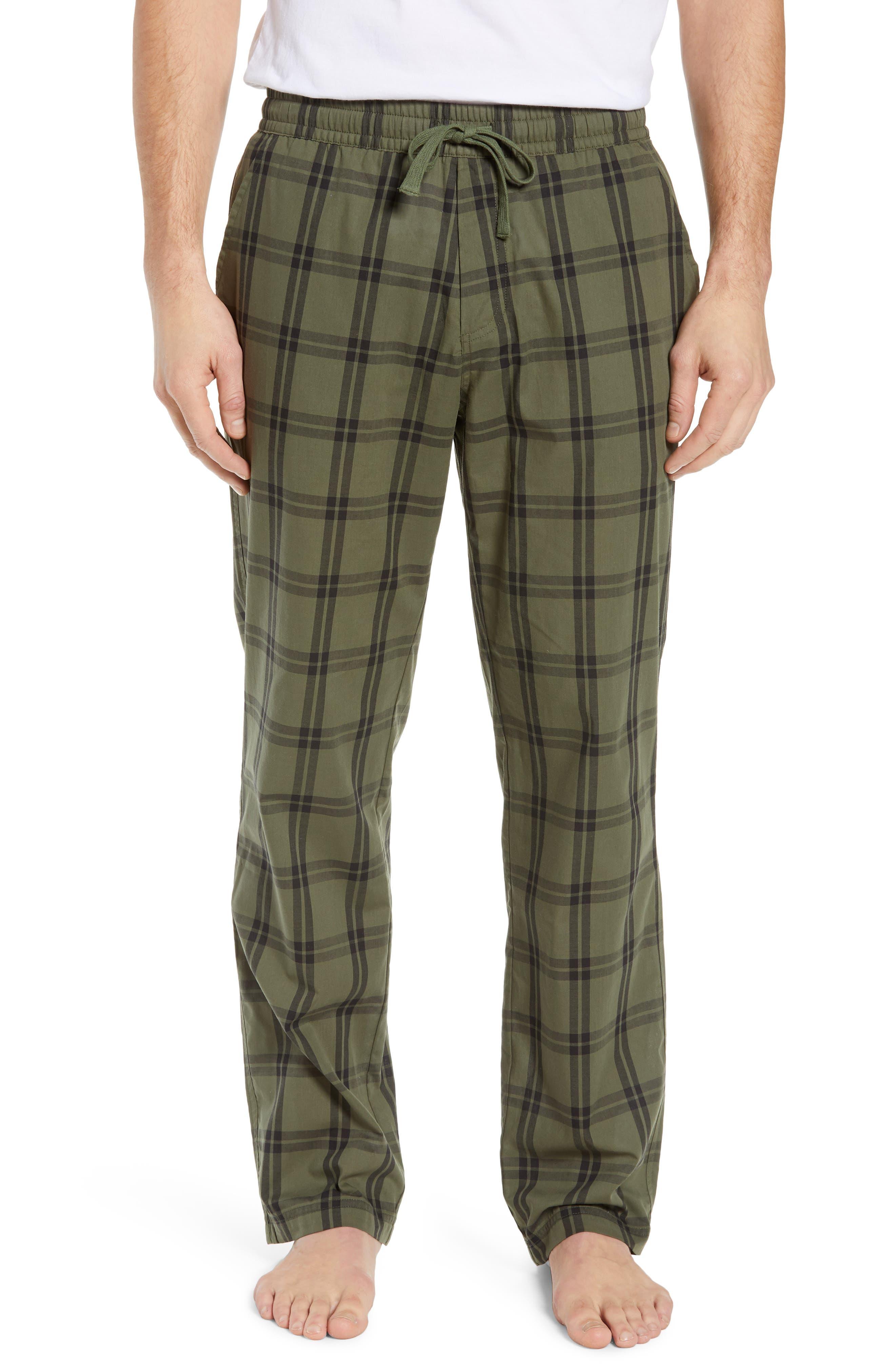 UGG<SUP>®</SUP>, Flynn Pajama Pants, Main thumbnail 1, color, CACTUS