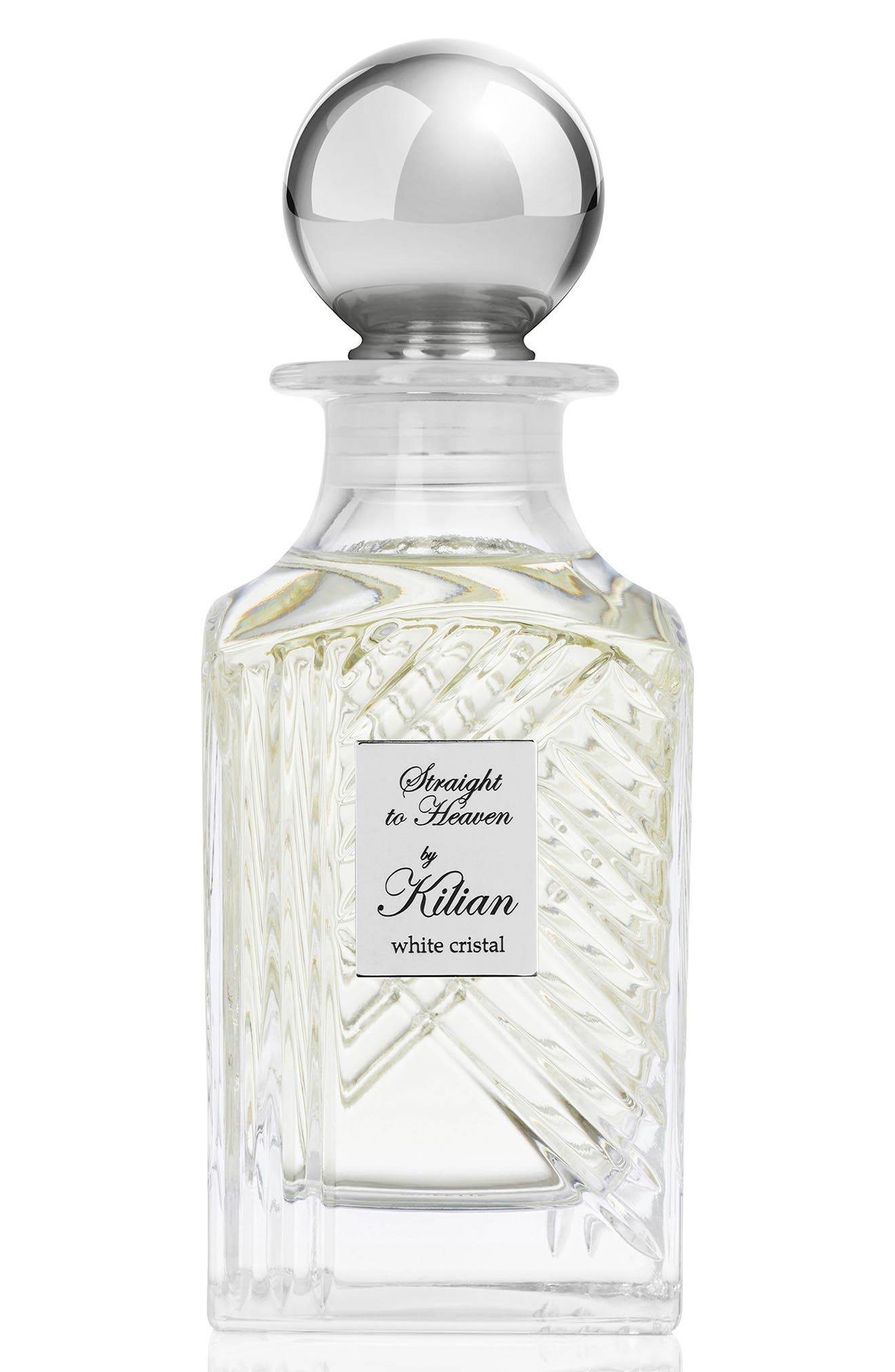 KILIAN, 'L'Oeuvre Noire - Straight to Heaven, white cristal' Mini Fragrance Carafe, Main thumbnail 1, color, NO COLOR