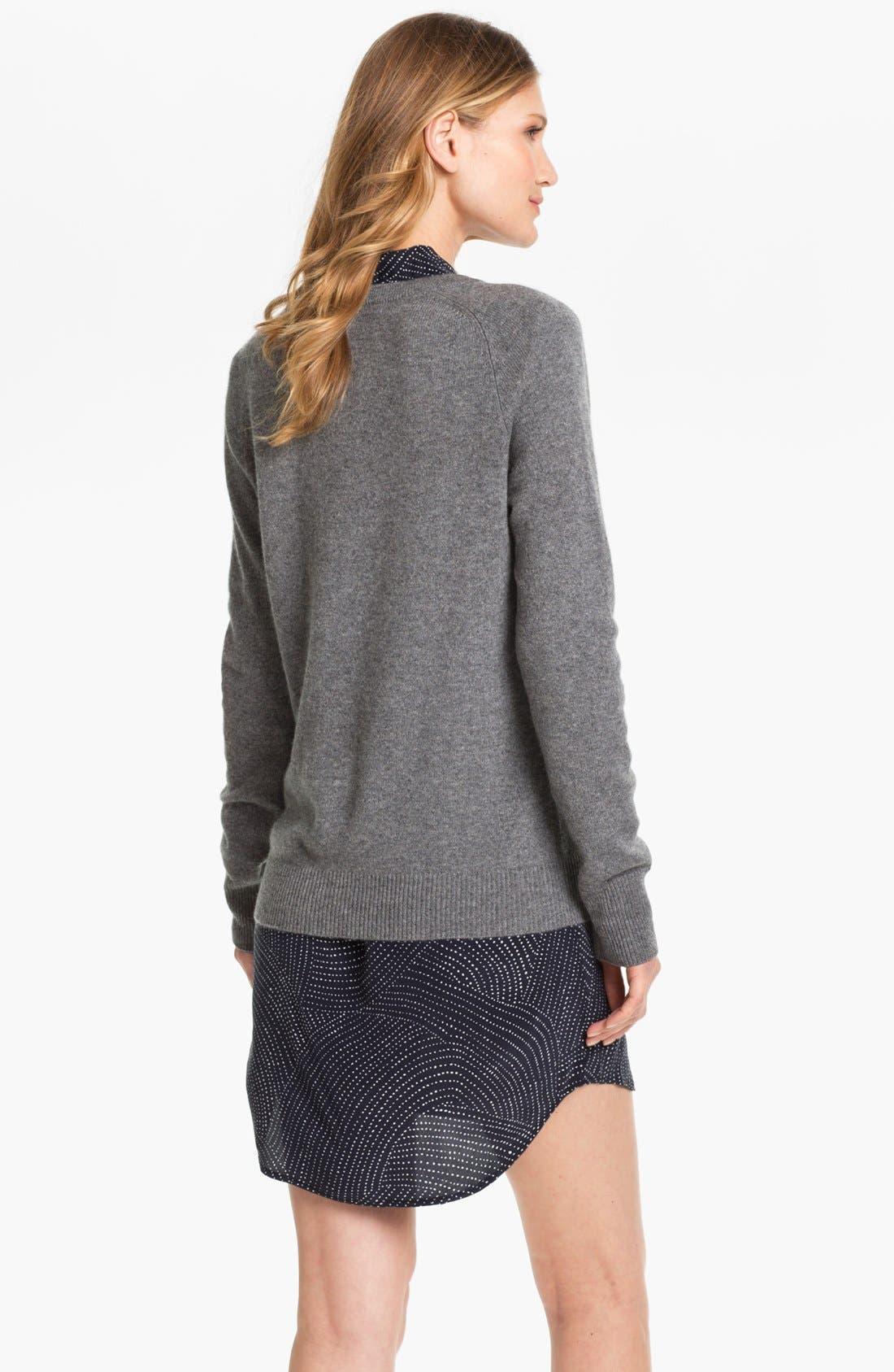 EQUIPMENT, 'Sloane' Crewneck Cashmere Sweater, Alternate thumbnail 8, color, 021