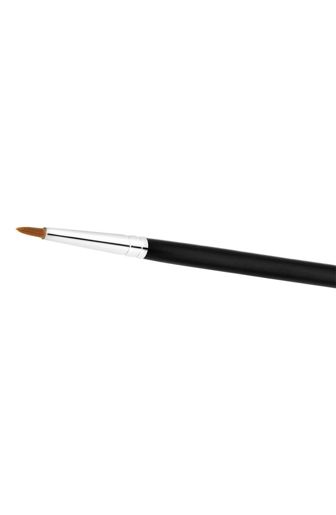 MAC COSMETICS, MAC 209 Eyeliner Brush, Alternate thumbnail 3, color, 000