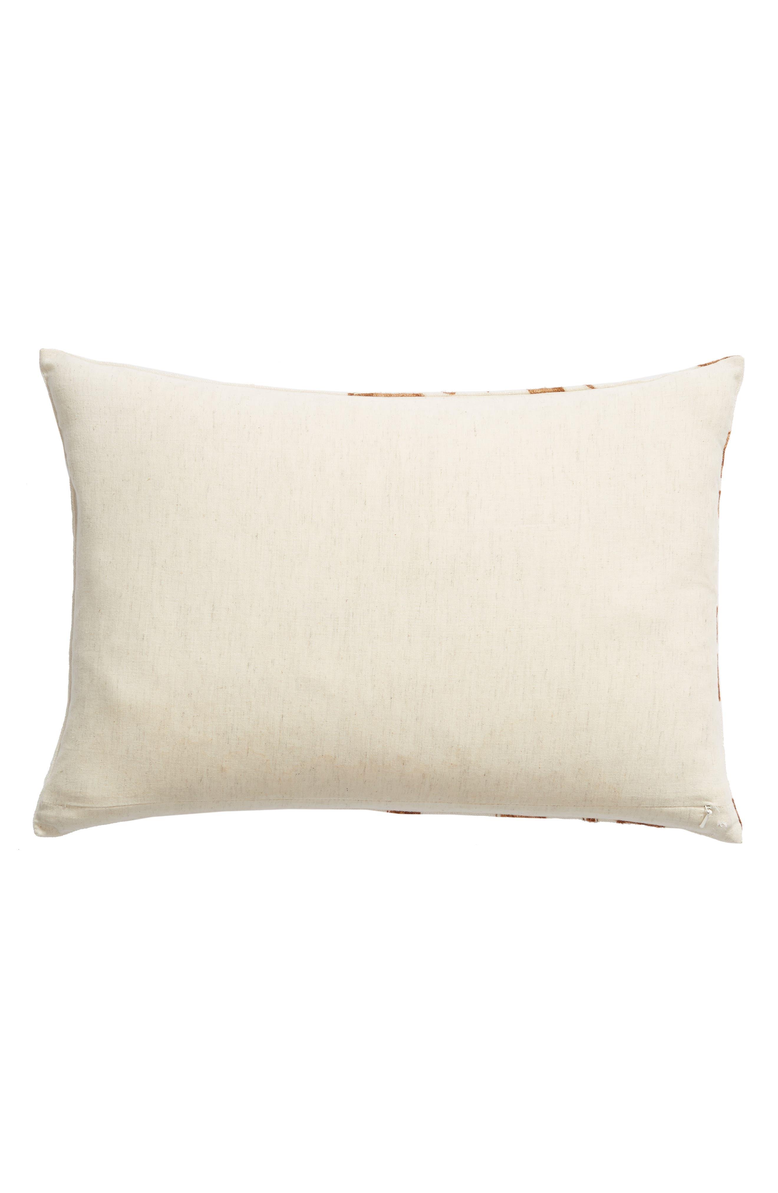 TREASURE & BOND, Vine Accent Pillow, Alternate thumbnail 2, color, BROWN RUSTIC MULTI