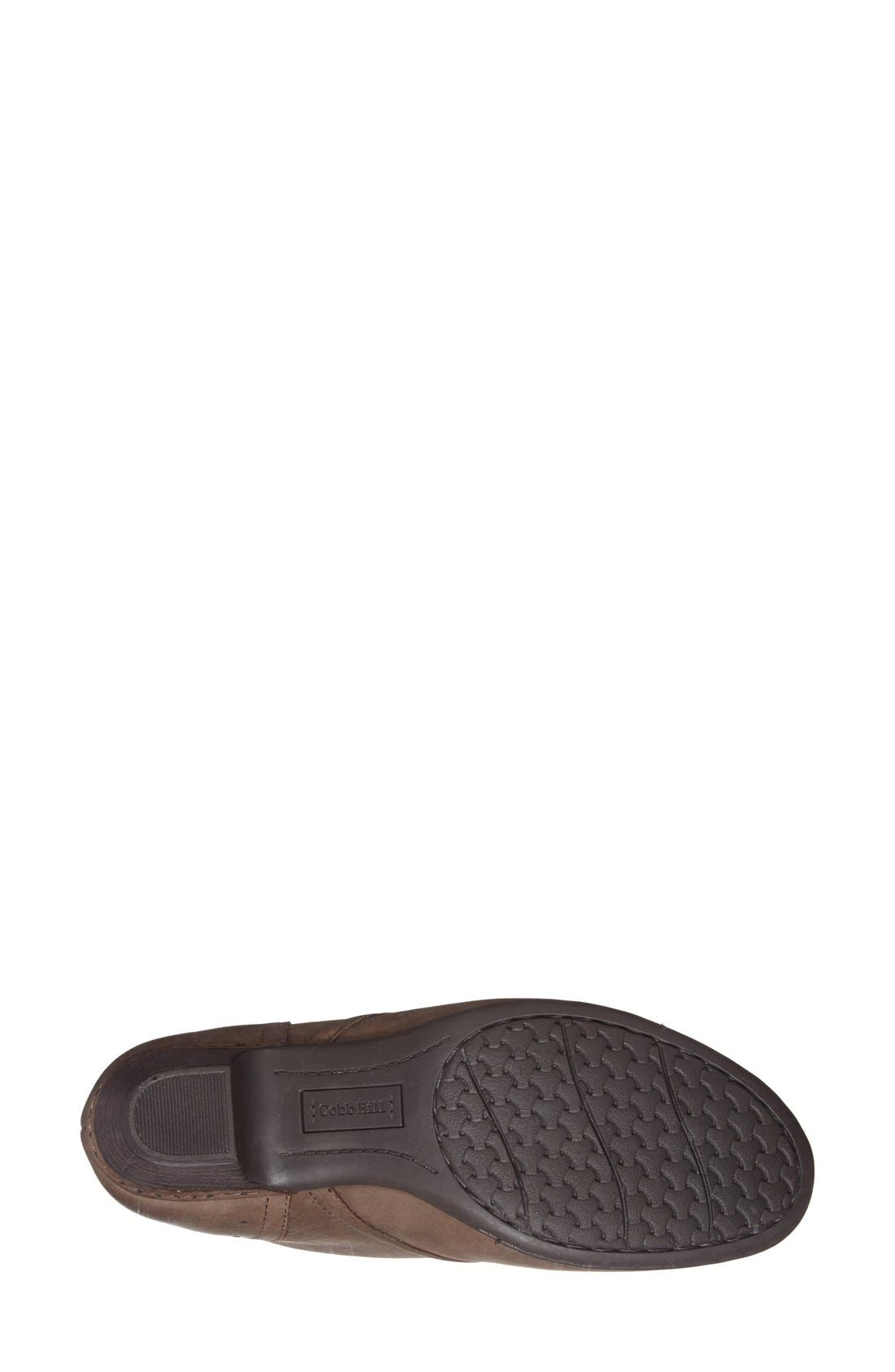 ROCKPORT COBB HILL, Aria Leather Boot, Alternate thumbnail 3, color, STONE