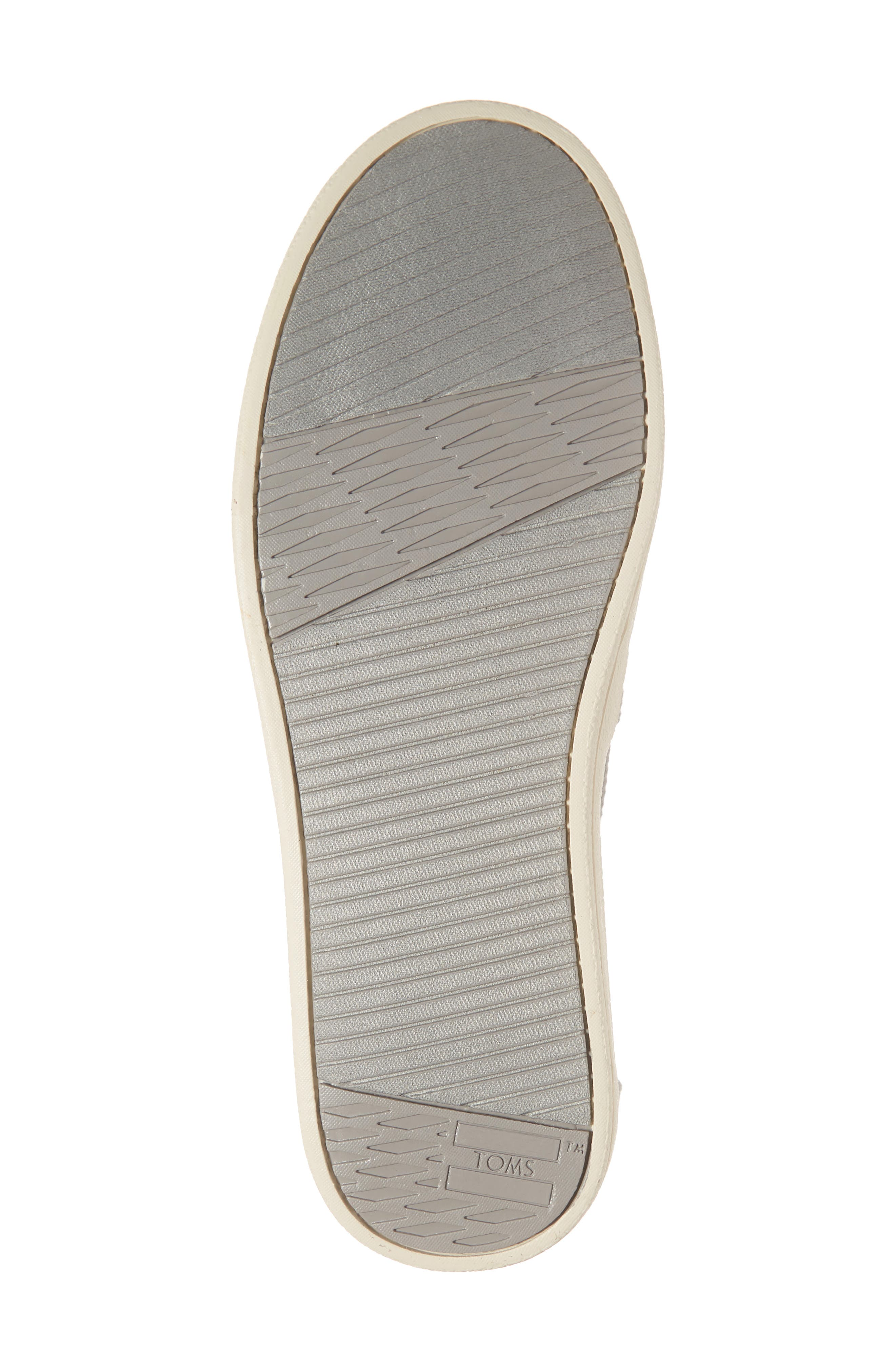 TOMS, Avalon Slip-On Sneaker, Alternate thumbnail 6, color, DRIZZLE GREY CANVAS
