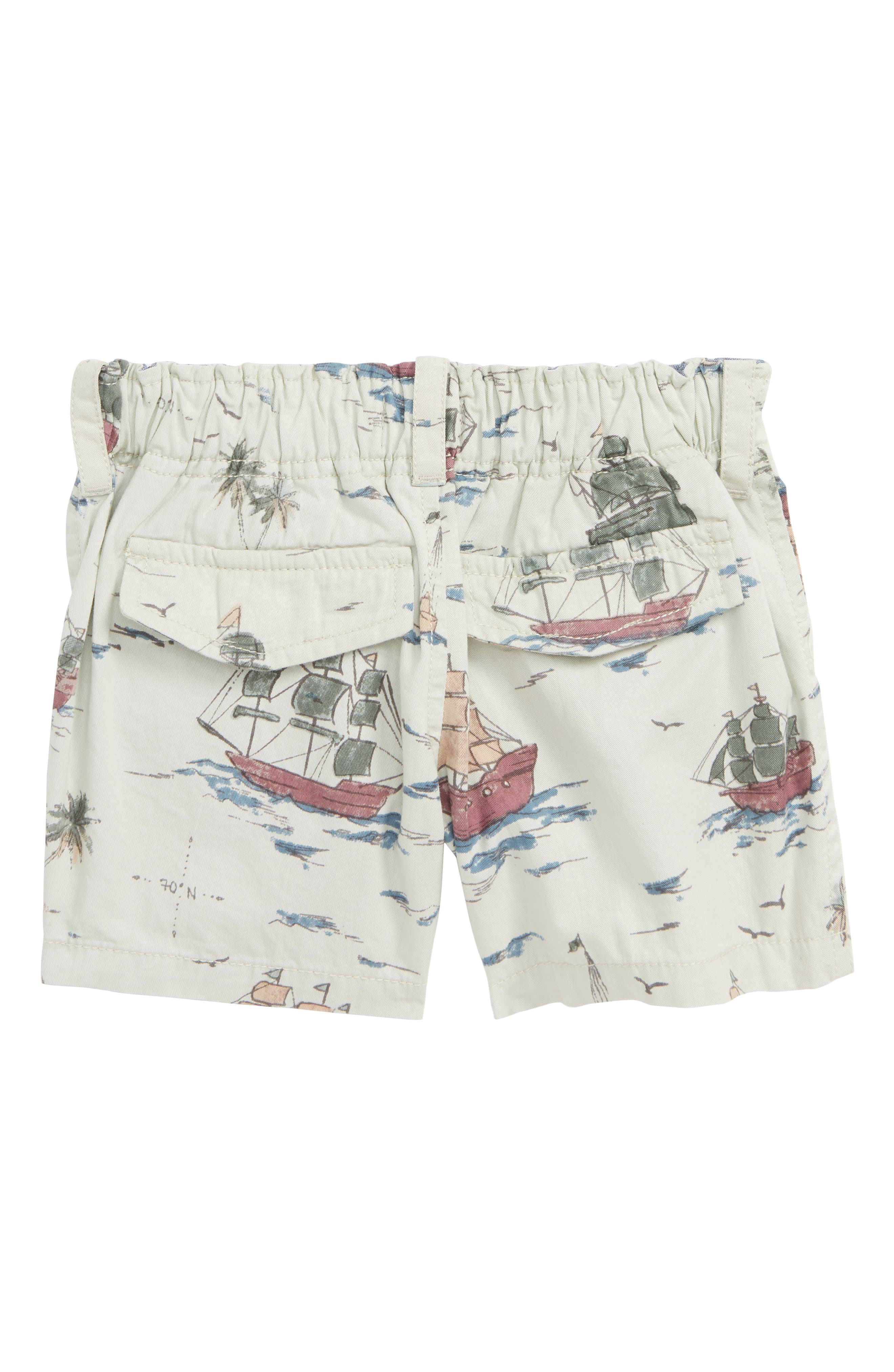 PEEK ESSENTIALS, Pirate Ship Shorts, Alternate thumbnail 2, color, KHAKI