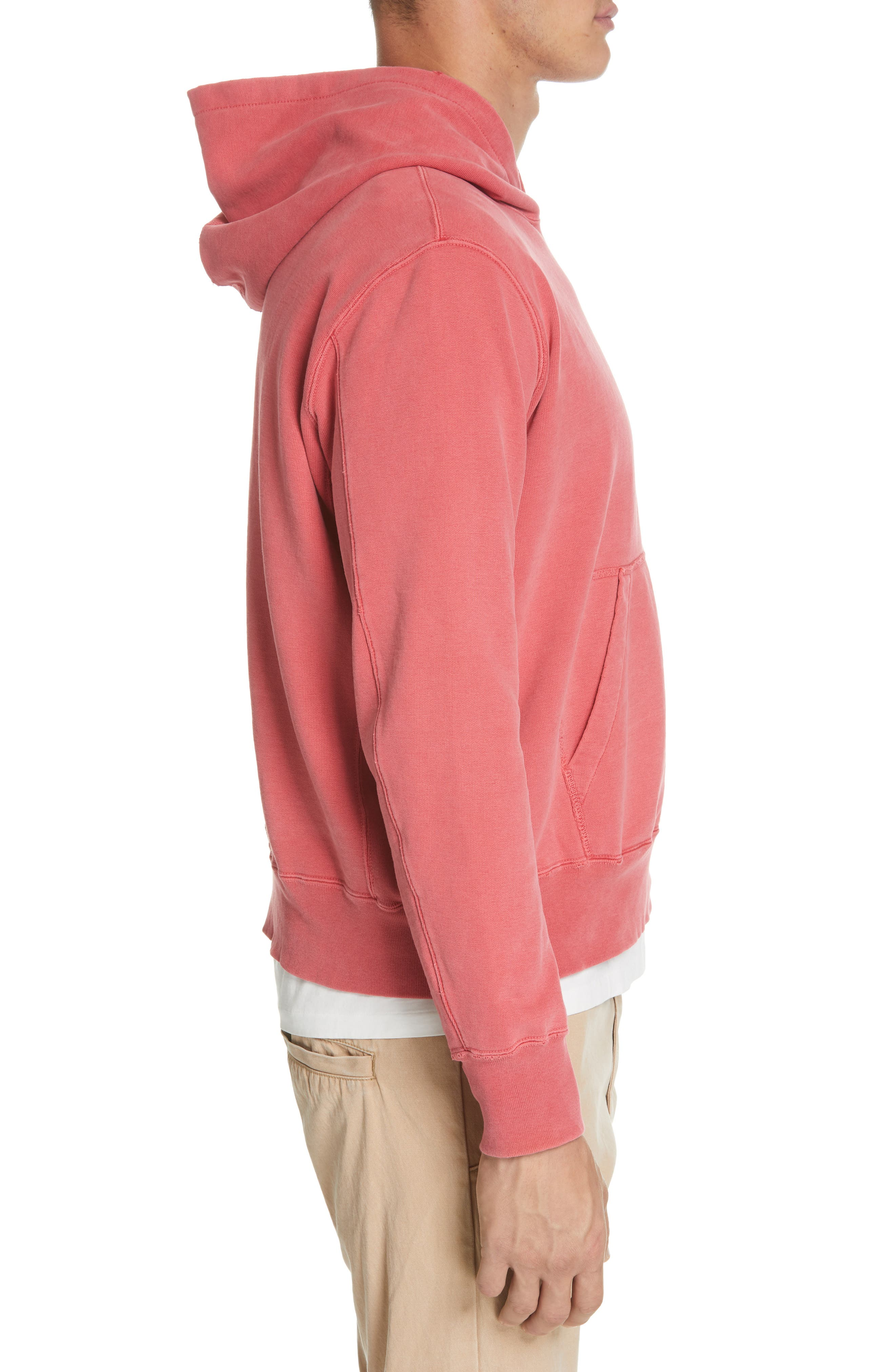 REMI RELIEF, Hoodie, Alternate thumbnail 3, color, 600