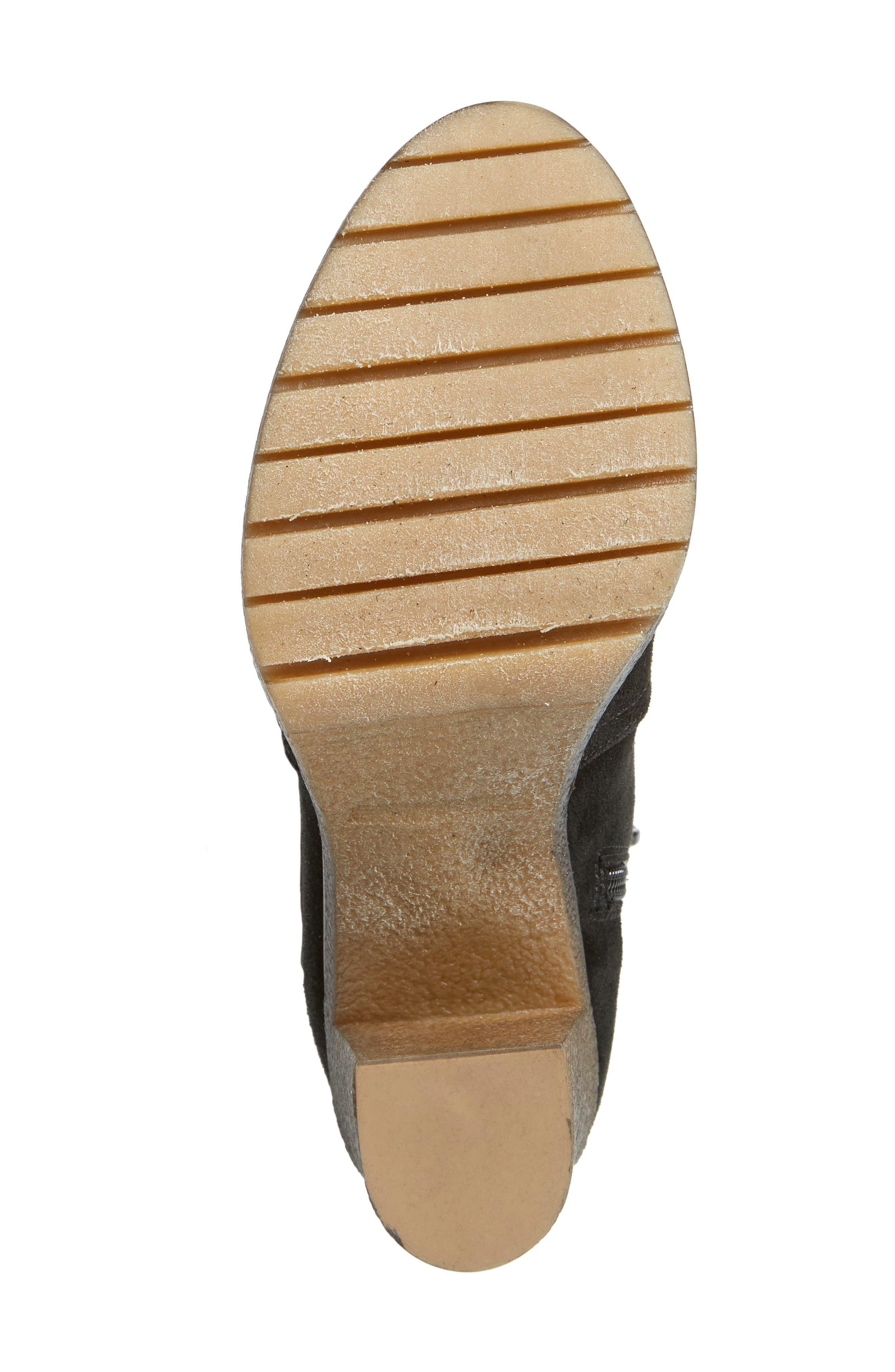 AMALFI BY RANGONI, Loreno Knee High Boot, Alternate thumbnail 6, color, 001