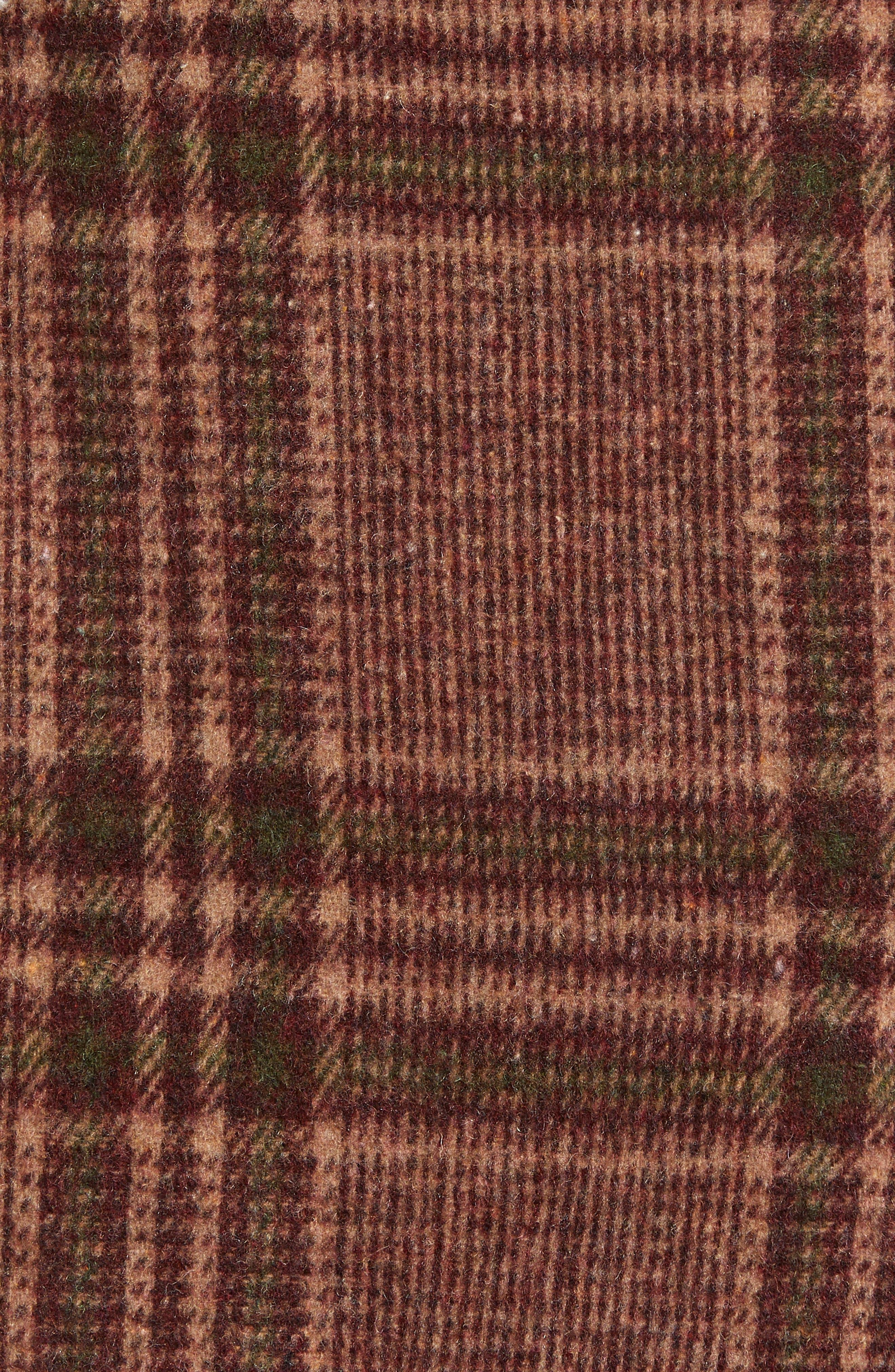 MOON RIVER, Plaid Miniskirt, Alternate thumbnail 5, color, 200