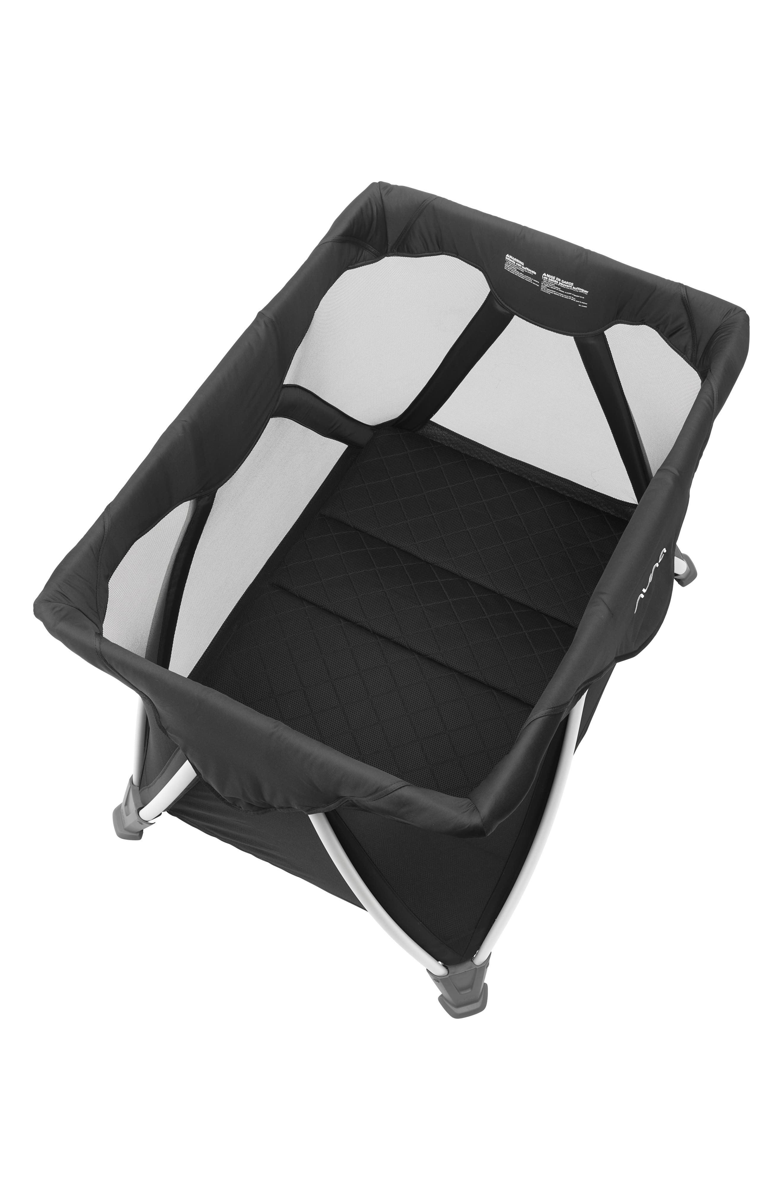 NUNA, SENA<sup>®</sup> Aire Travel Crib, Alternate thumbnail 9, color, CAVIAR