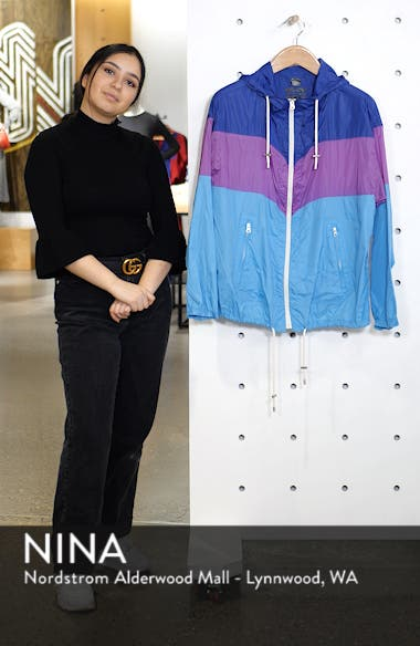 Kyriel Colorblock Hooded Jacket, sales video thumbnail