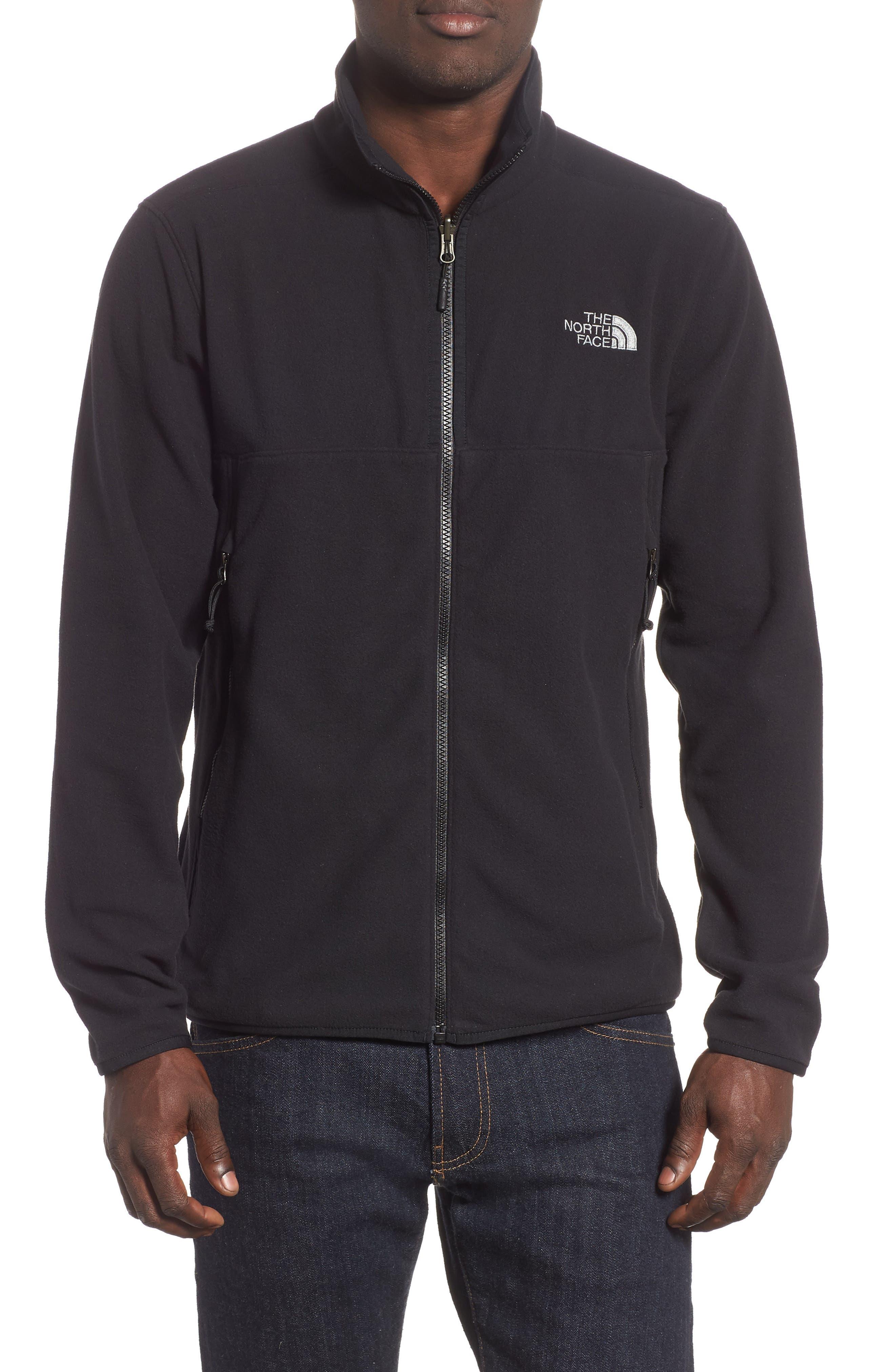 THE NORTH FACE Glacier Alpine Jacket, Main, color, TNF BLACK