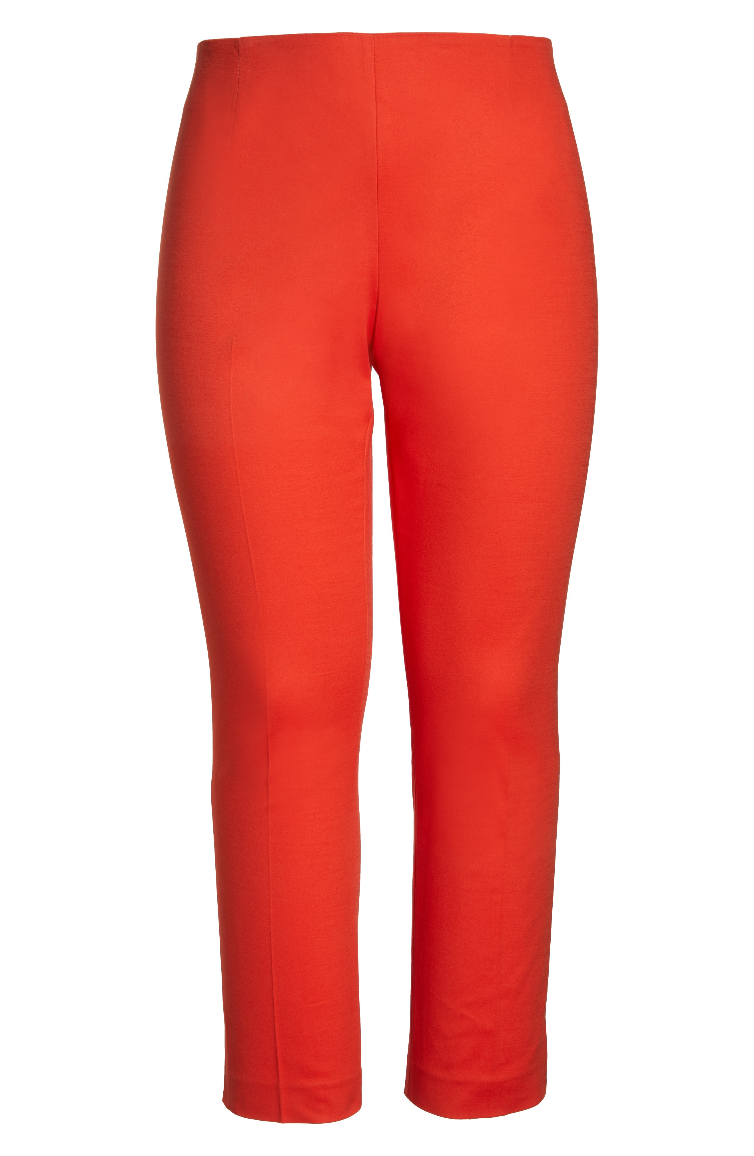 VINCE CAMUTO, Vented Cuff Slim Pants, Alternate thumbnail 7, color, 600