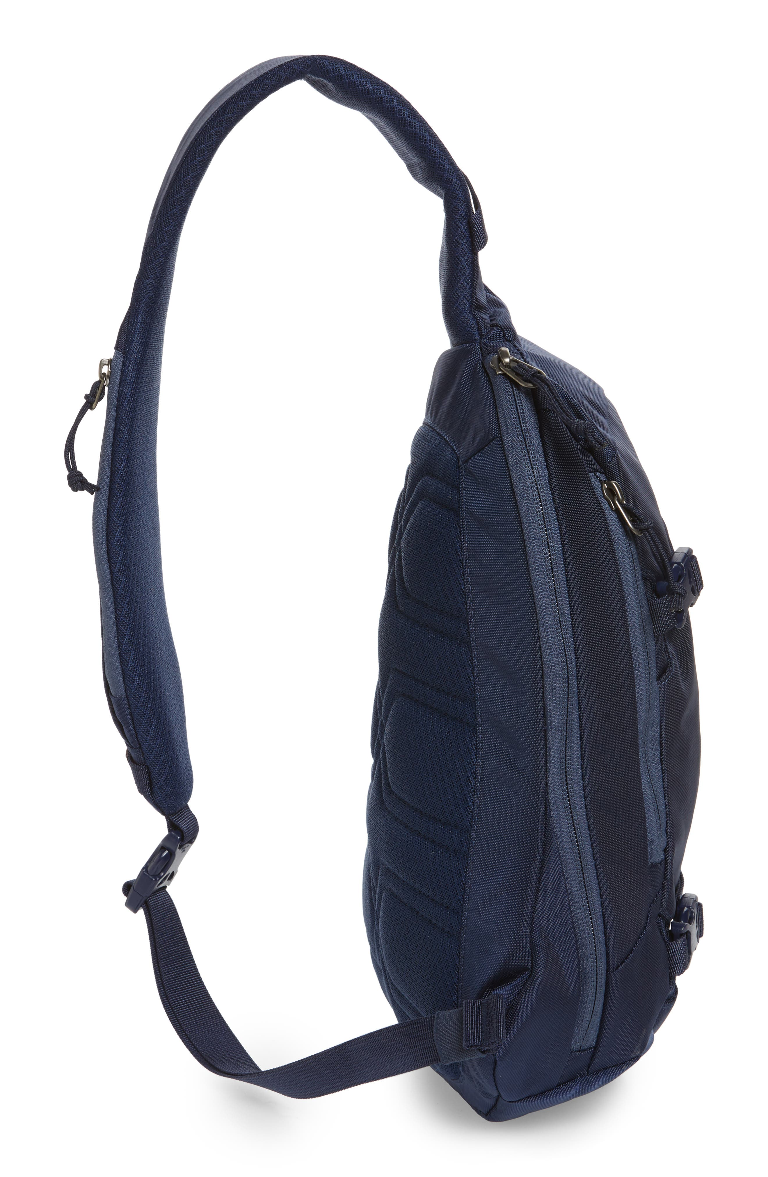 PATAGONIA, Atom 8L Sling Backpack, Alternate thumbnail 6, color, CLASSIC NAVY W/ NAVY