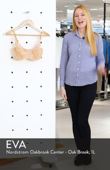 'Envy' Underwire Stretch Lace Bra, sales video thumbnail