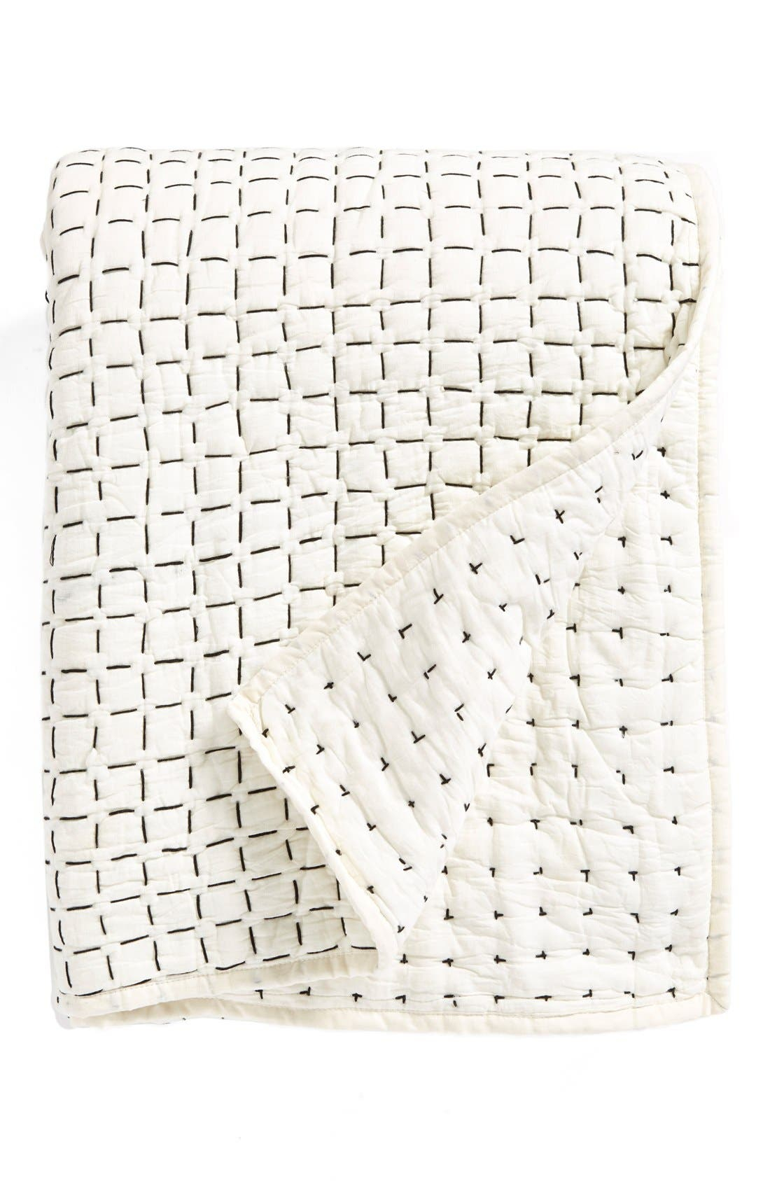 DKNY, 'Pure Imprint' Quilt, Main thumbnail 1, color, 020