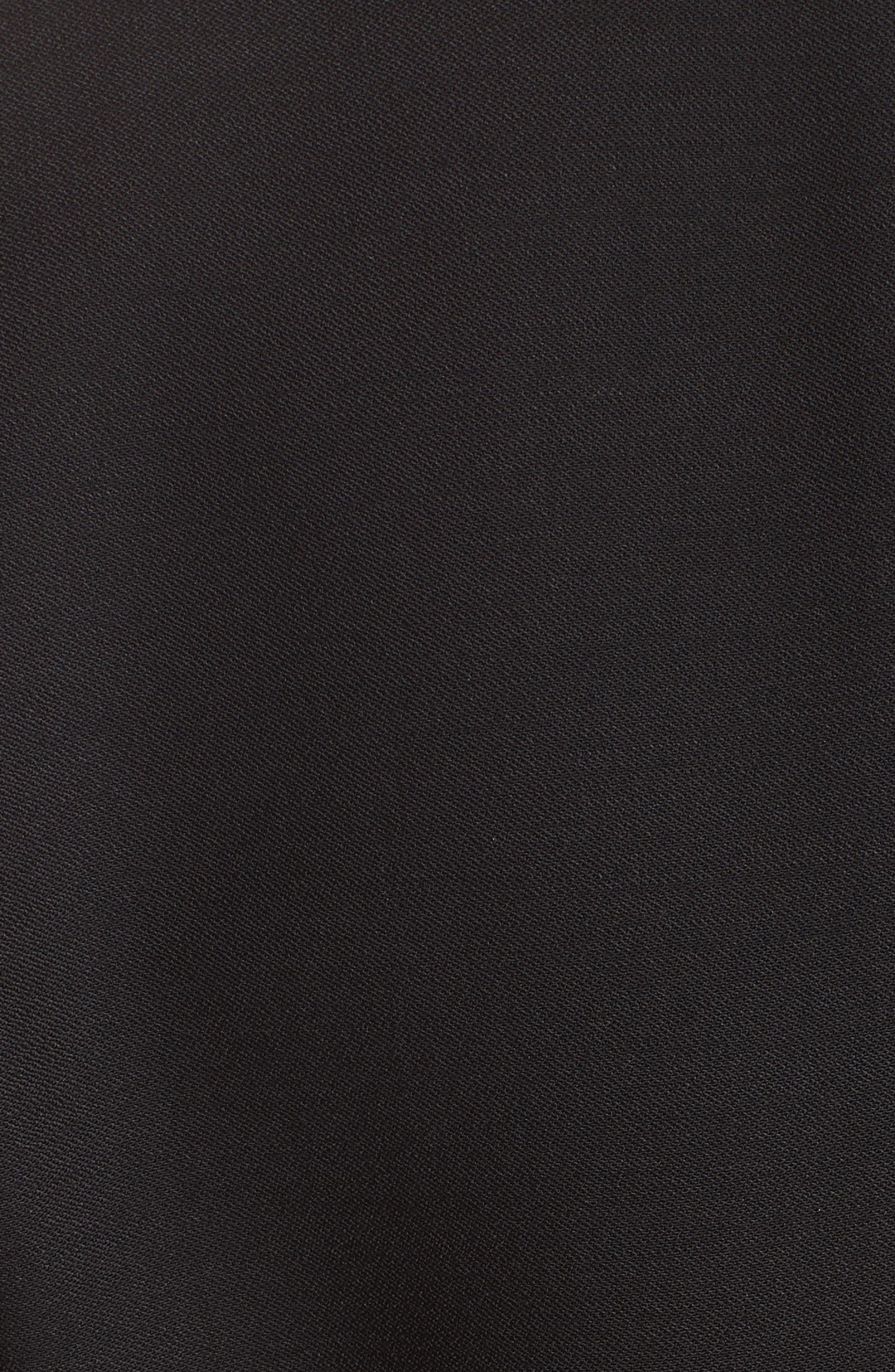 HELMUT LANG, Cinched Waist Blazer, Alternate thumbnail 6, color, 001