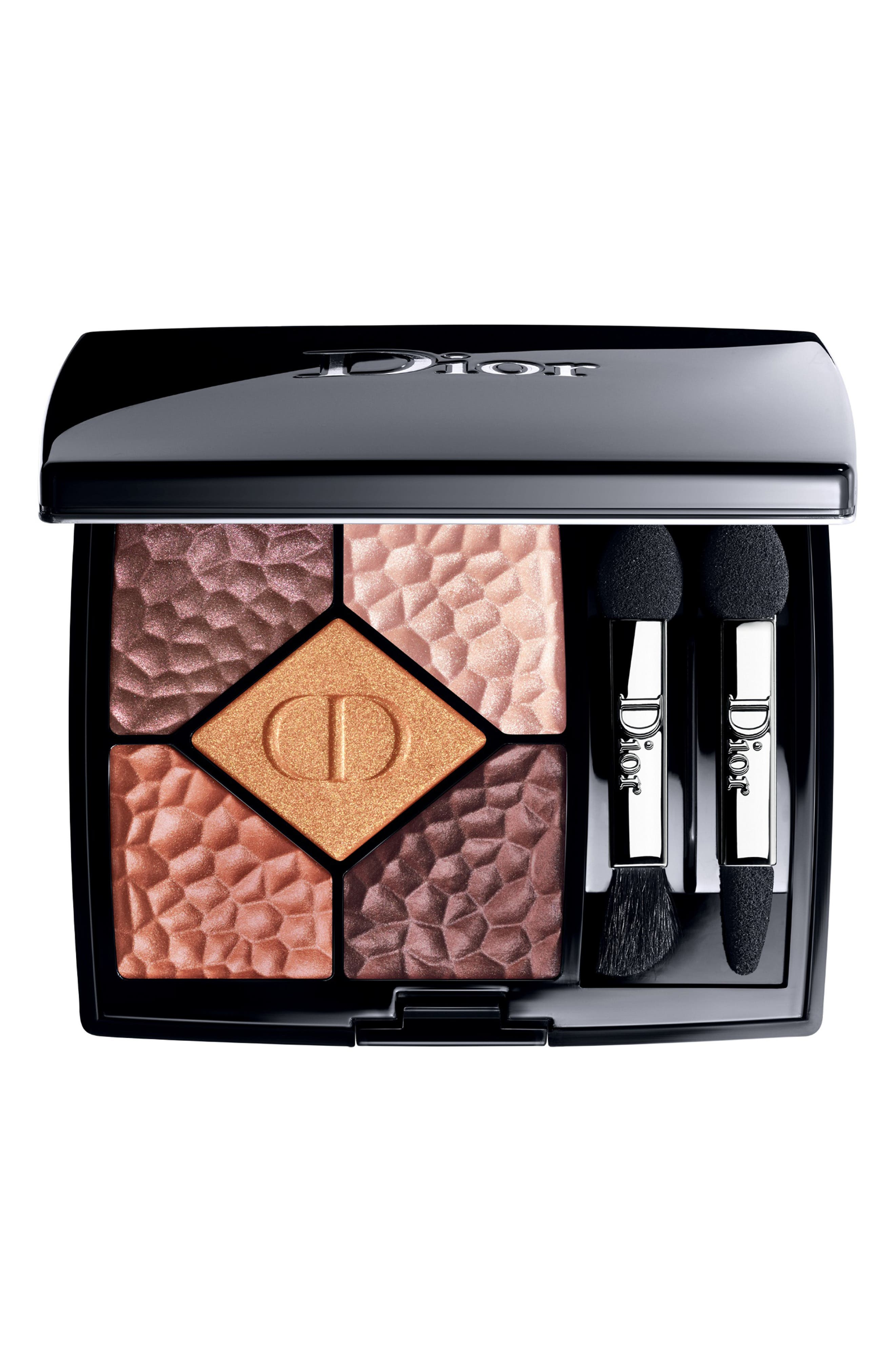 DIOR, Diorshow 5 Couleurs Colors & Effects Eyeshadow Palette, Main thumbnail 1, color, 786 TERRA