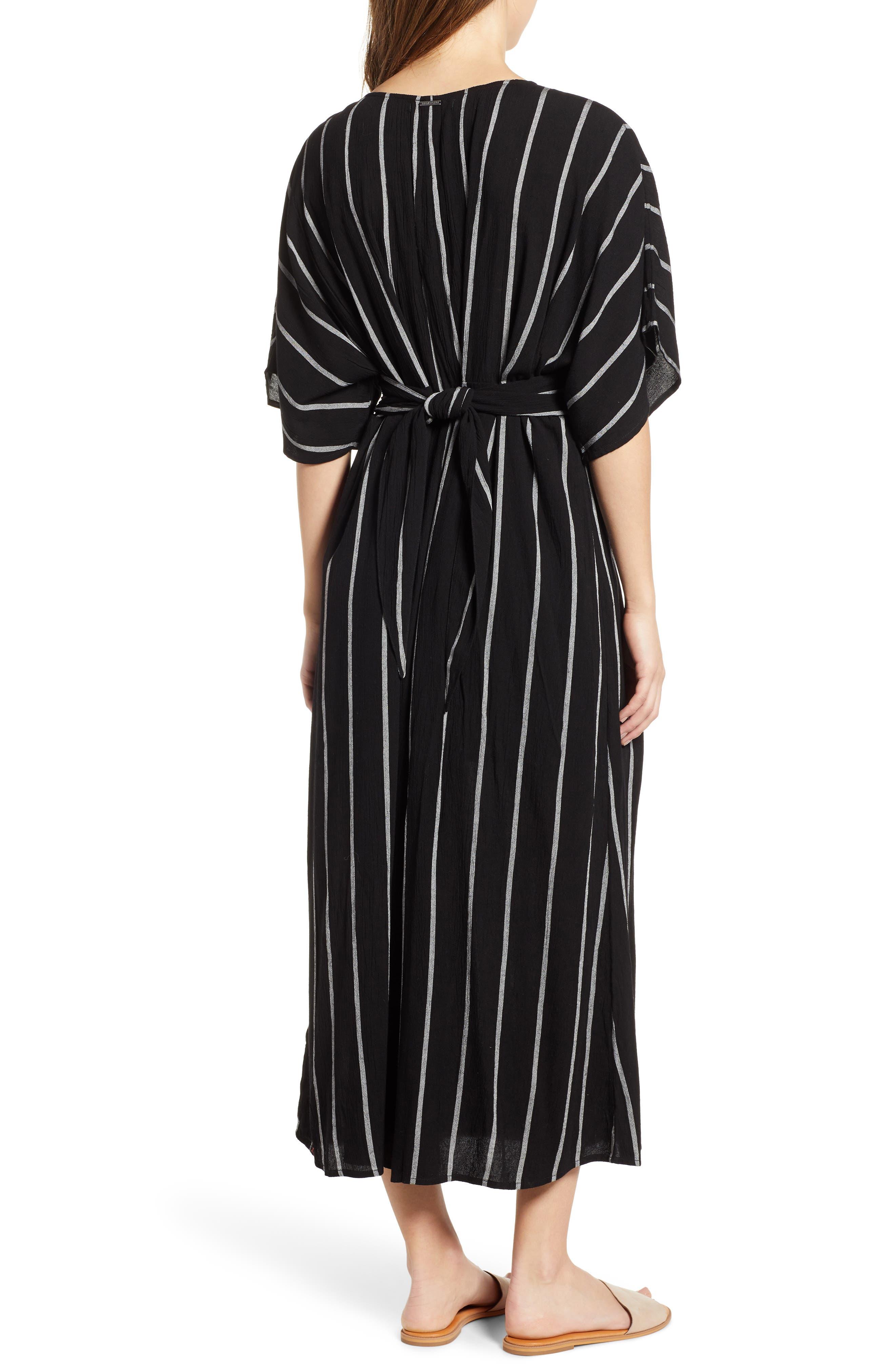 BILLABONG, Forever Fine Dress, Alternate thumbnail 2, color, BLACK