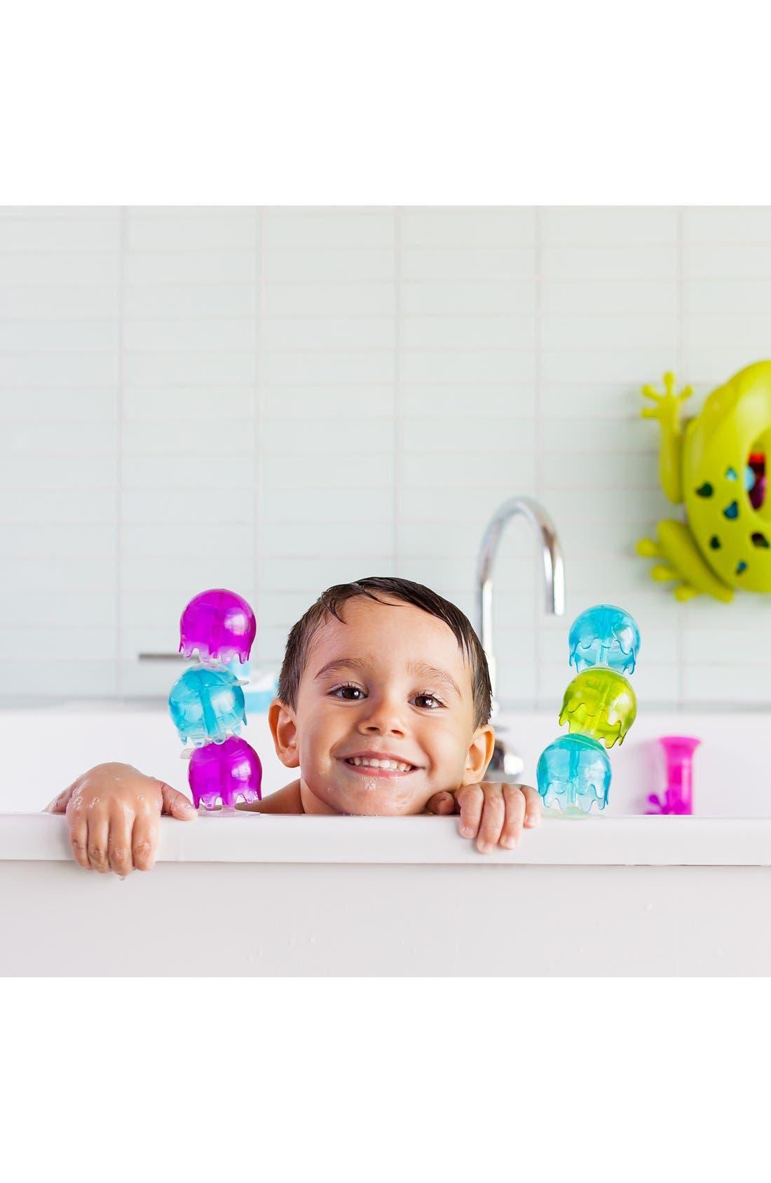 BOON, 'Jellies' Suction Cup Bath Toys, Alternate thumbnail 3, color, MULTI