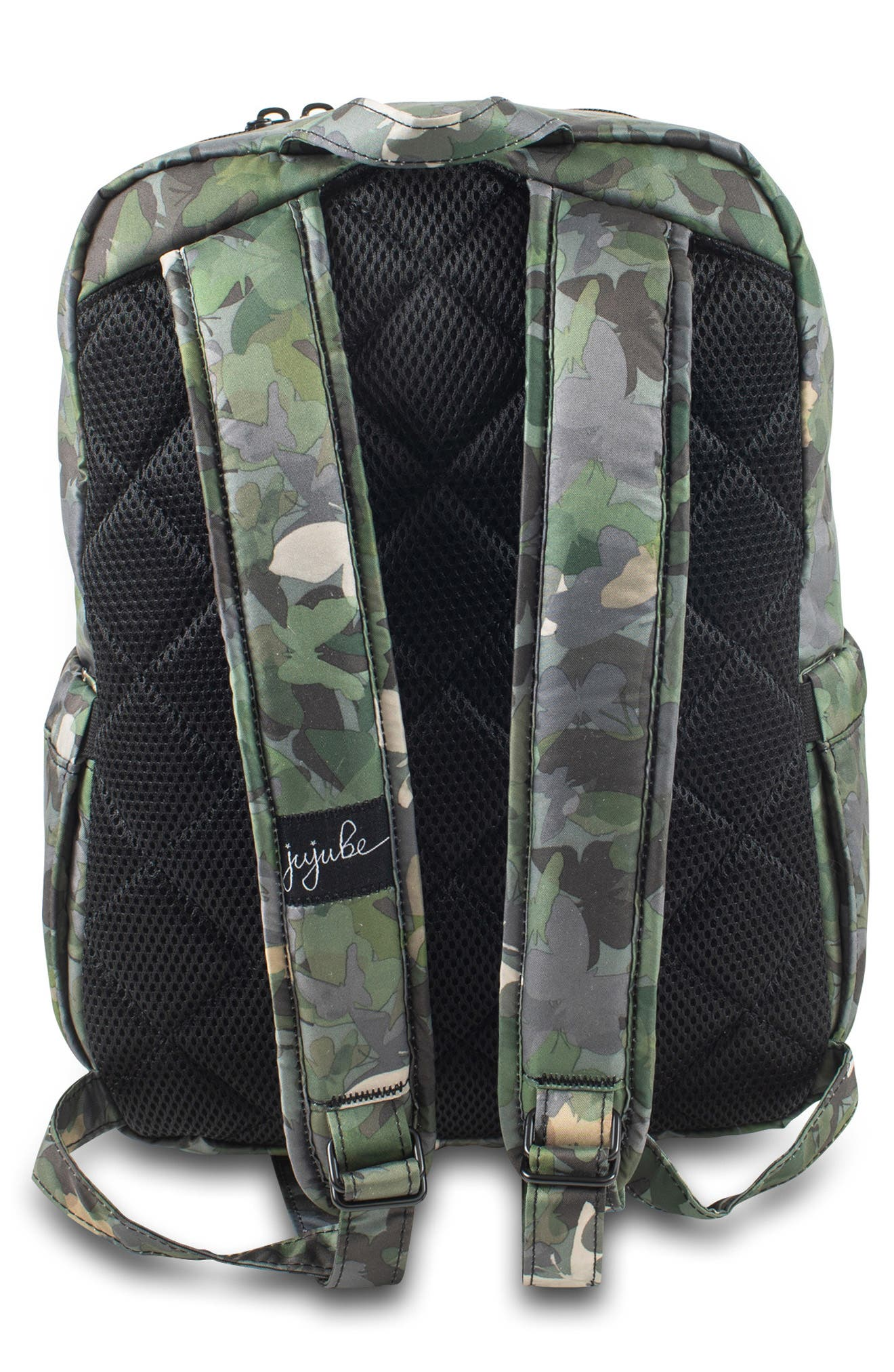 JU-JU-BE, 'Mini Be - Onyx Collection' Backpack, Alternate thumbnail 2, color, BUTTERFLY FOREST