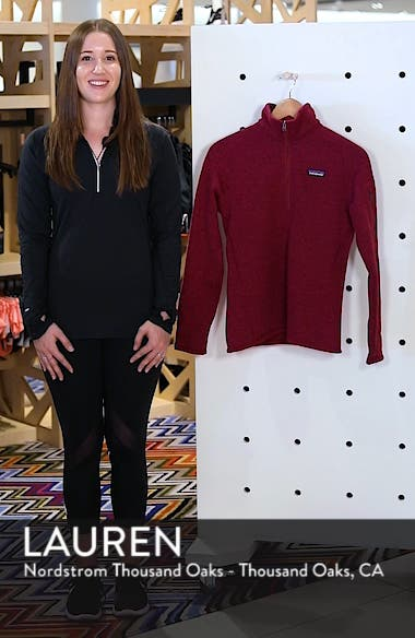 Better Sweater Zip Pullover, sales video thumbnail