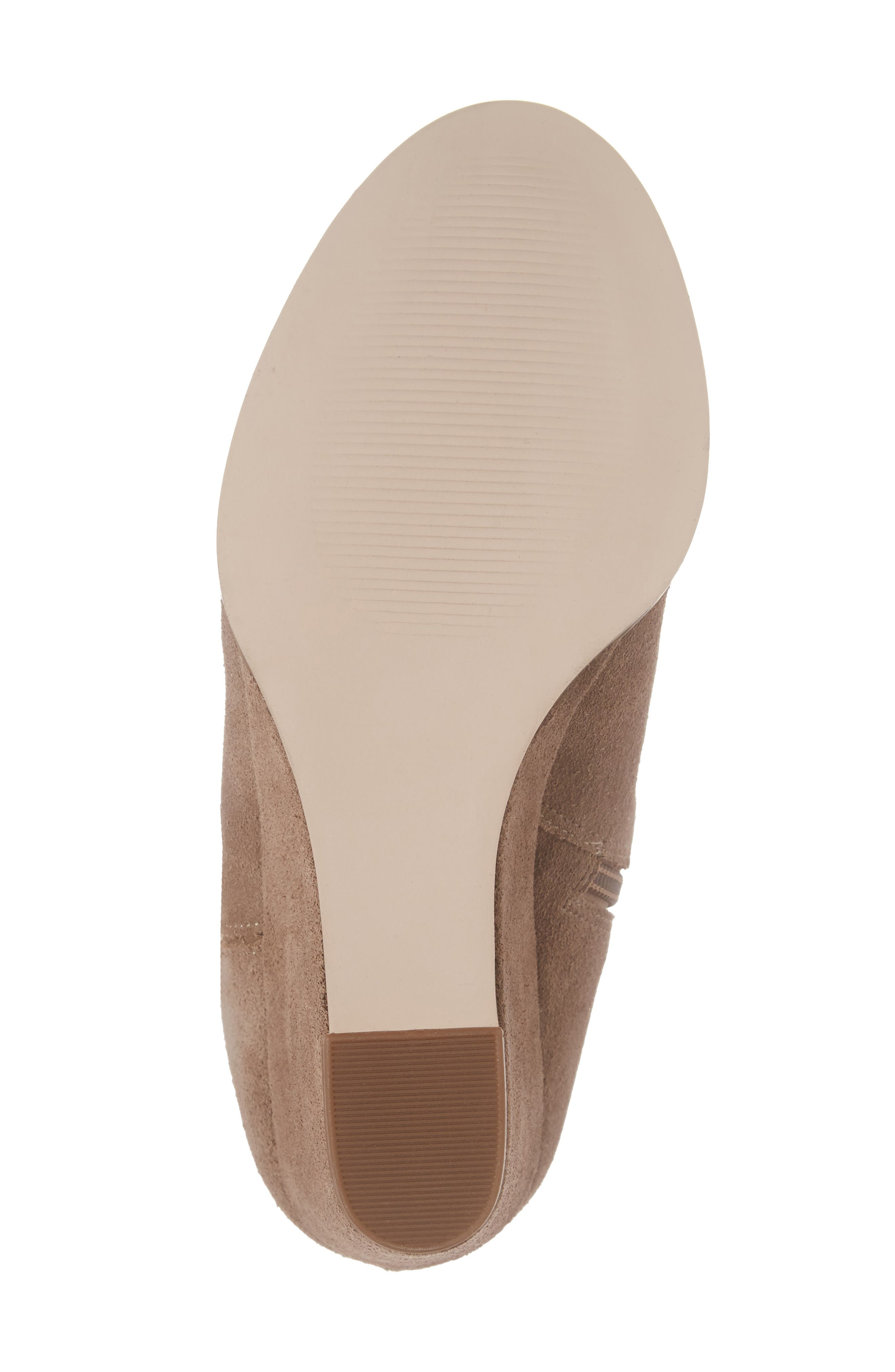 SOLE SOCIETY, Laila Boot, Alternate thumbnail 6, color, TAUPE