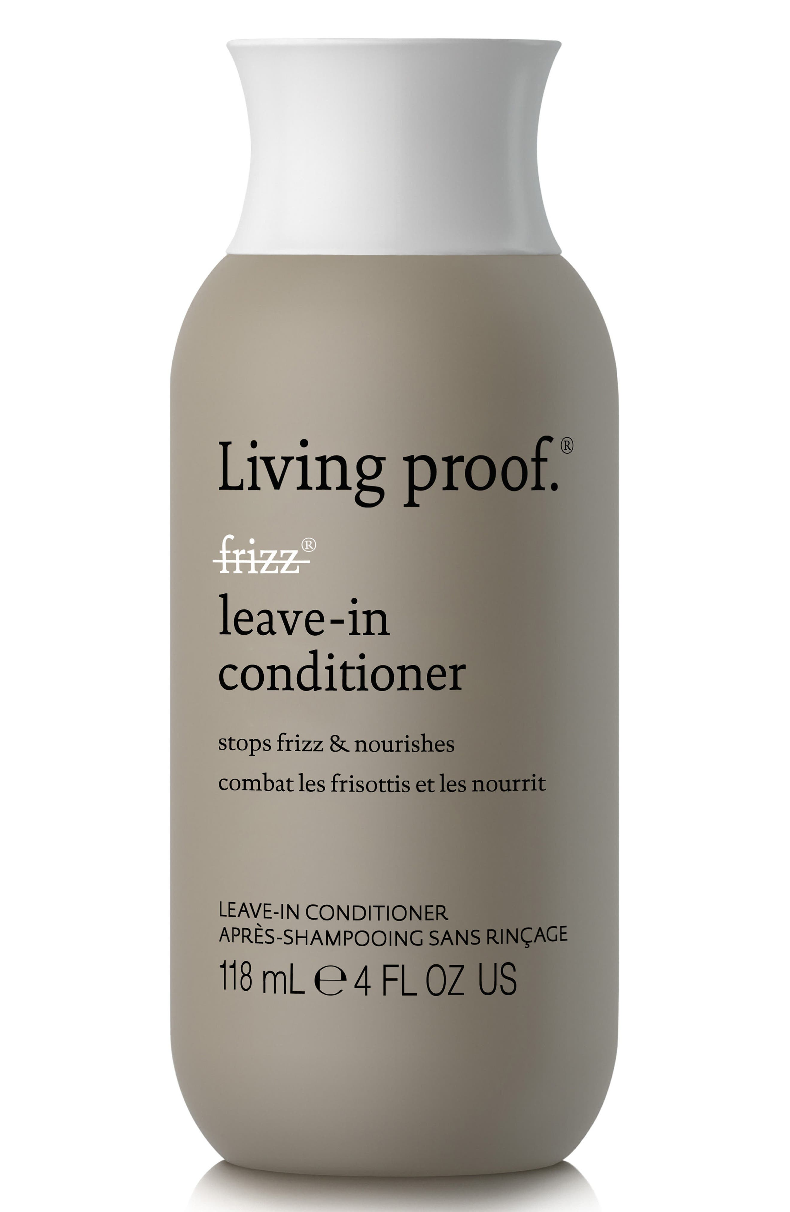 LIVING PROOF<SUP>®</SUP>, No Frizz Leave-In Conditioner, Main thumbnail 1, color, NO COLOR